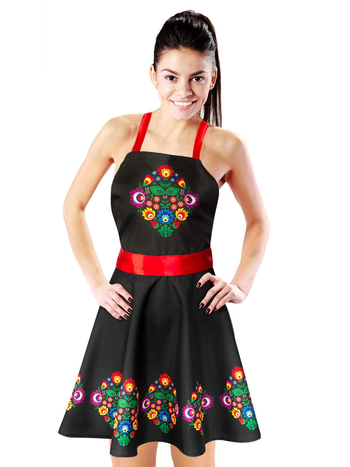 Kleid mit Blumen für Damen: Kostüme für Erwachsene,und ...