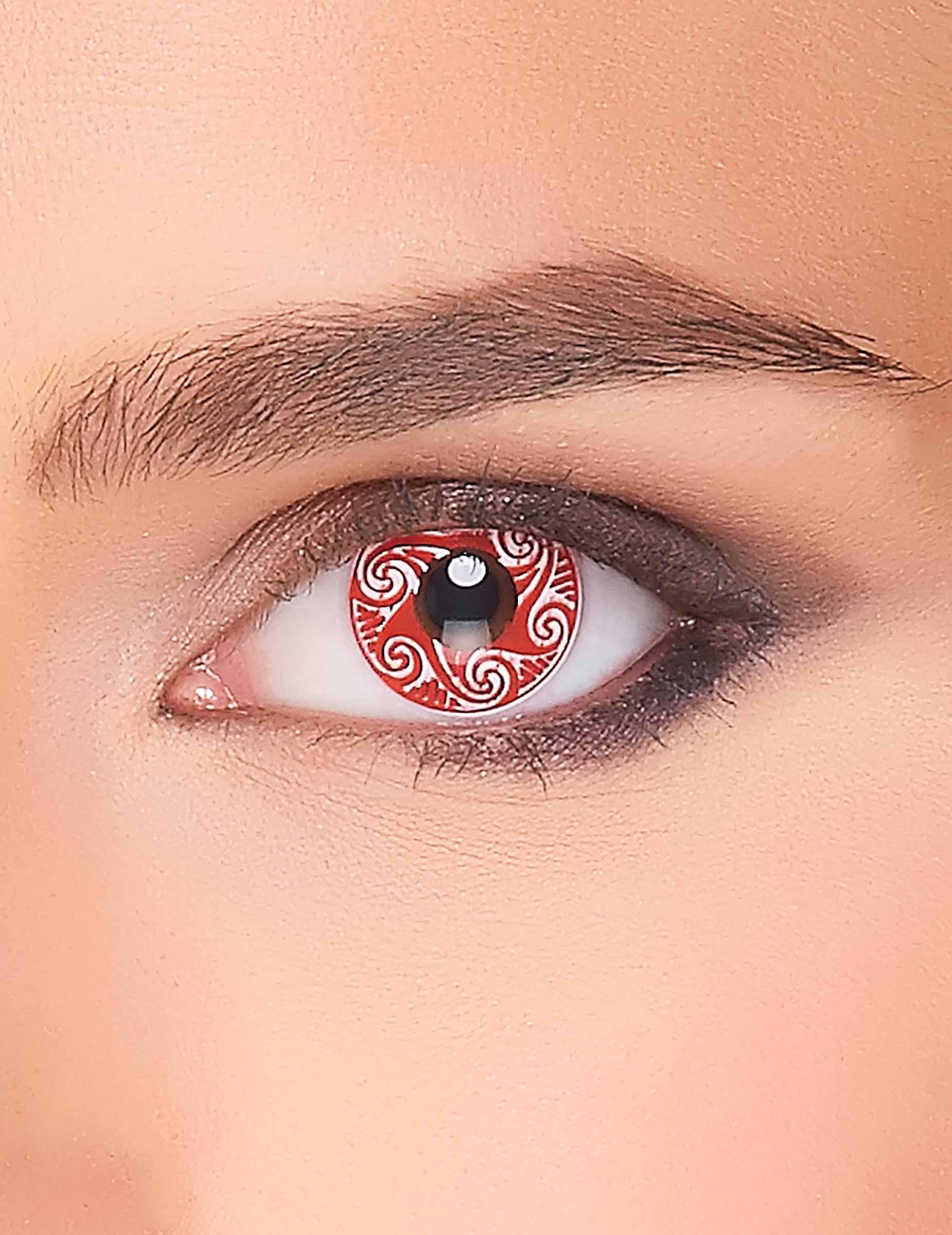 kontaktlinsen keltenmotiv rot schminke und g nstige. Black Bedroom Furniture Sets. Home Design Ideas