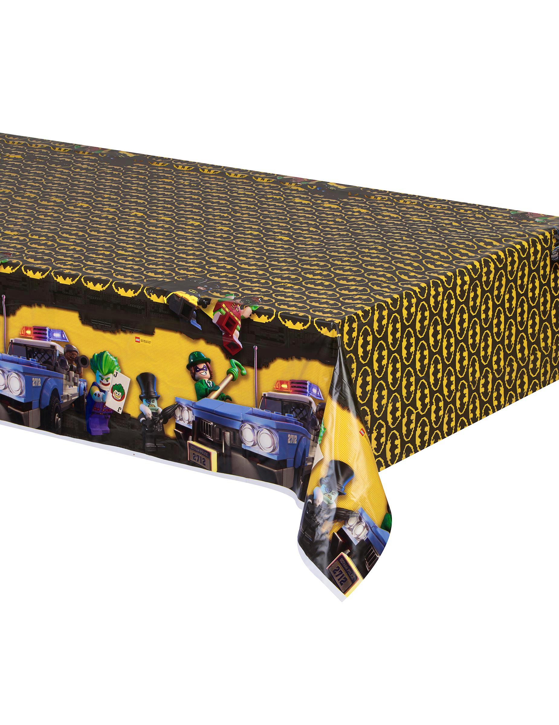 lego batman tischdecke kunststoff partydeko und g nstige. Black Bedroom Furniture Sets. Home Design Ideas