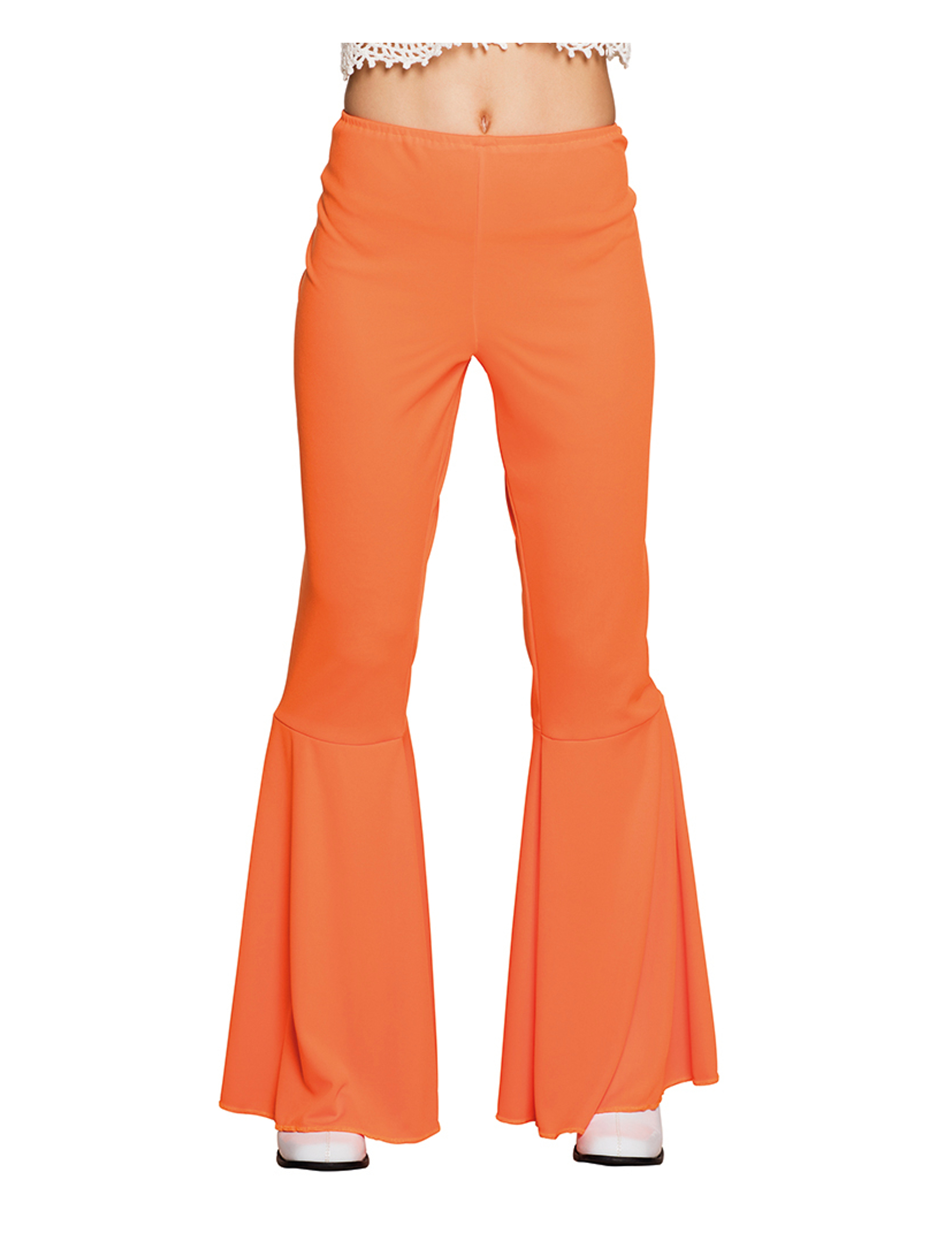 Orange Disco Hose orange für Damen 266966