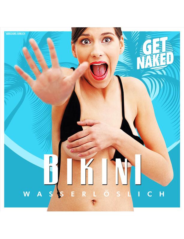 Wasserlöslicher Bikini für Erwachsene Scherzartikel - M 267343