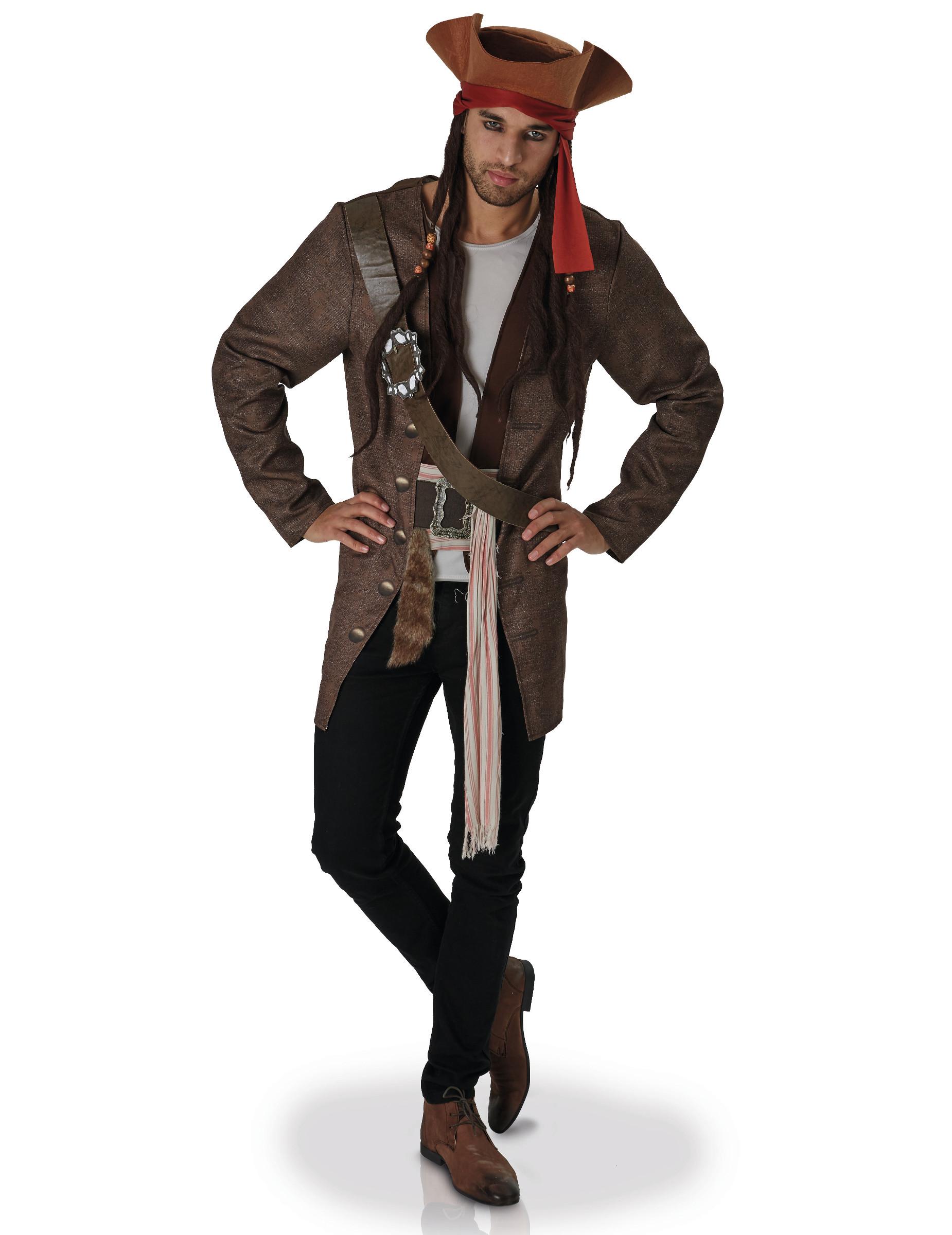 jack sparrow piratenkost m f r erwachsene kost me f r erwachsene und g nstige faschingskost me. Black Bedroom Furniture Sets. Home Design Ideas