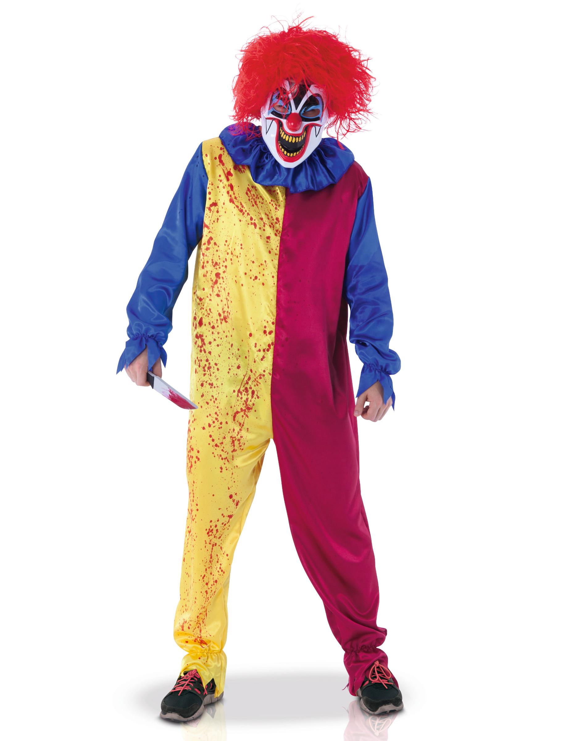 Psycho Clown Kostum Fur Erwachsene Kostume Fur Erwachsene Und
