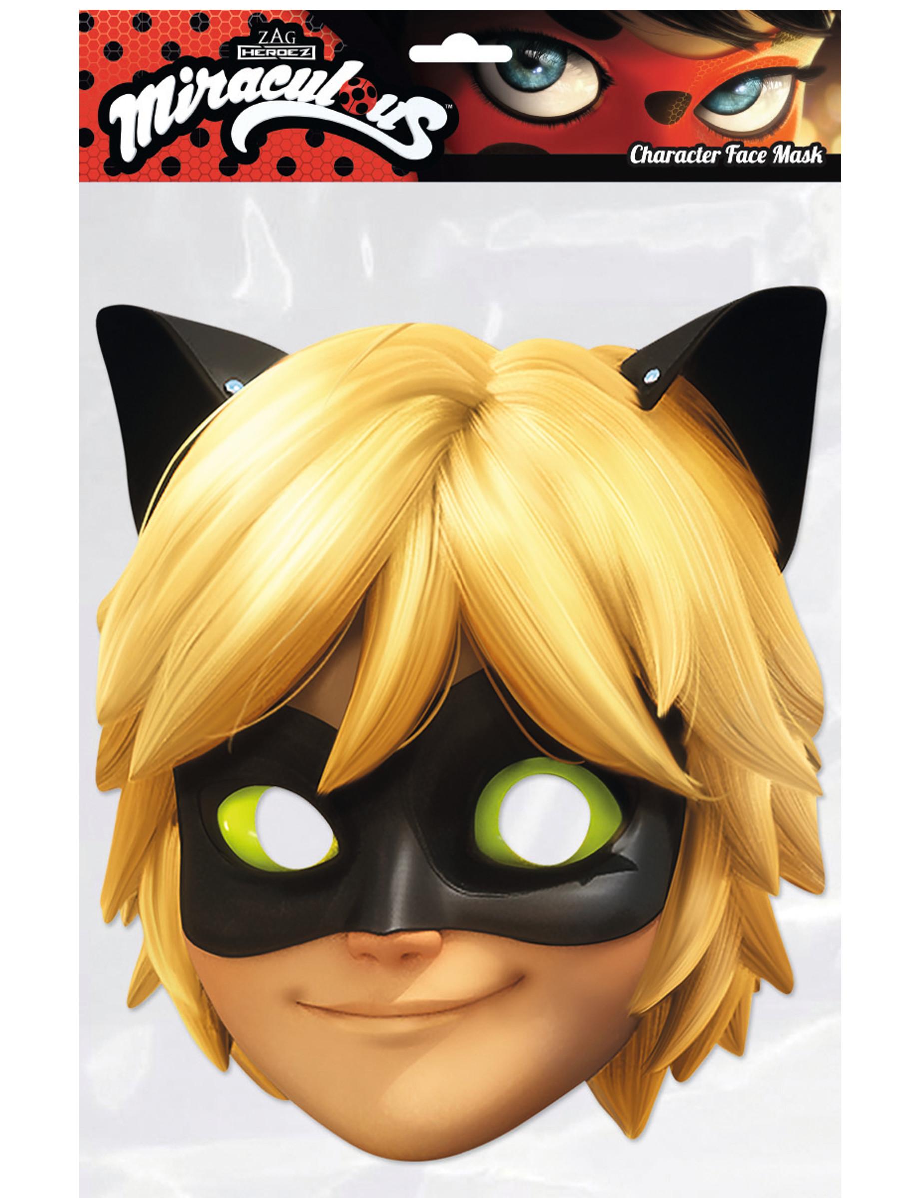 makse cat noir ladybug masken und g nstige. Black Bedroom Furniture Sets. Home Design Ideas