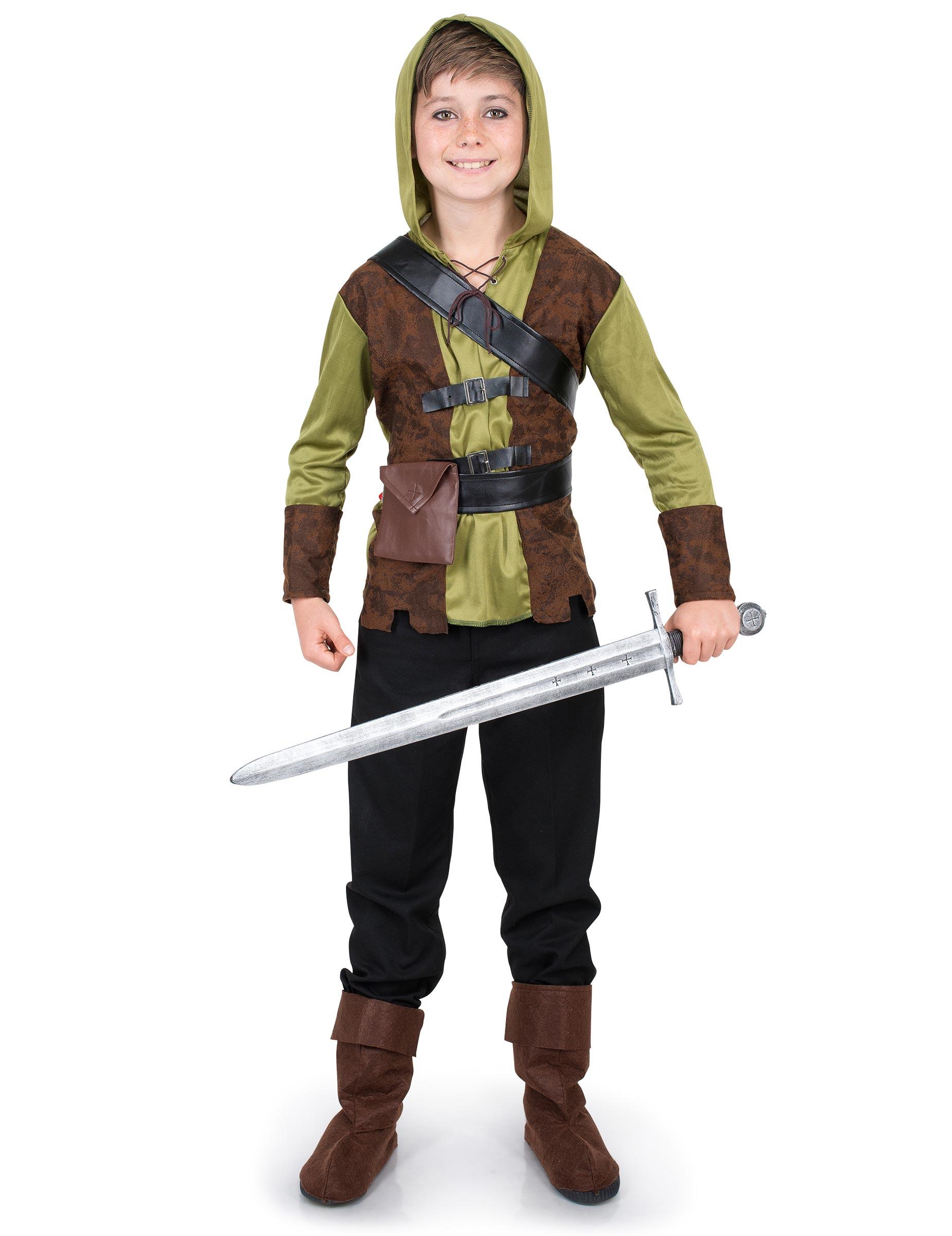 Waldmann - Kostüm für Jungen - 110/116 (5-6 Jahre) 287051