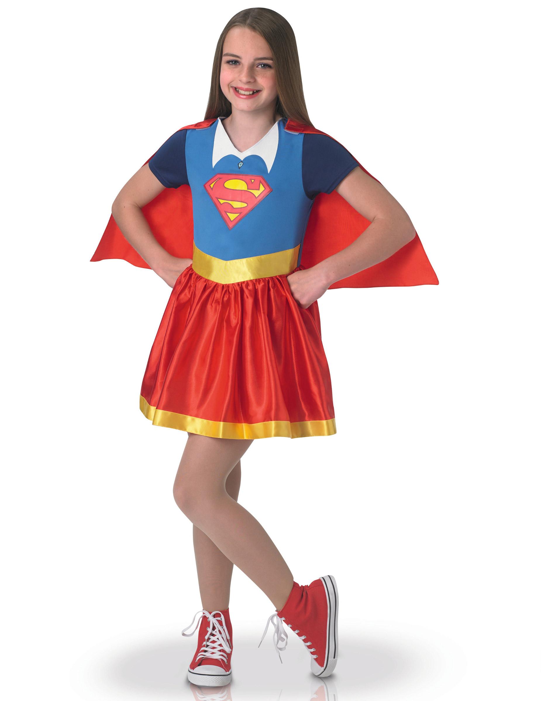 *Supergirl™Kostüm für Mädchen*