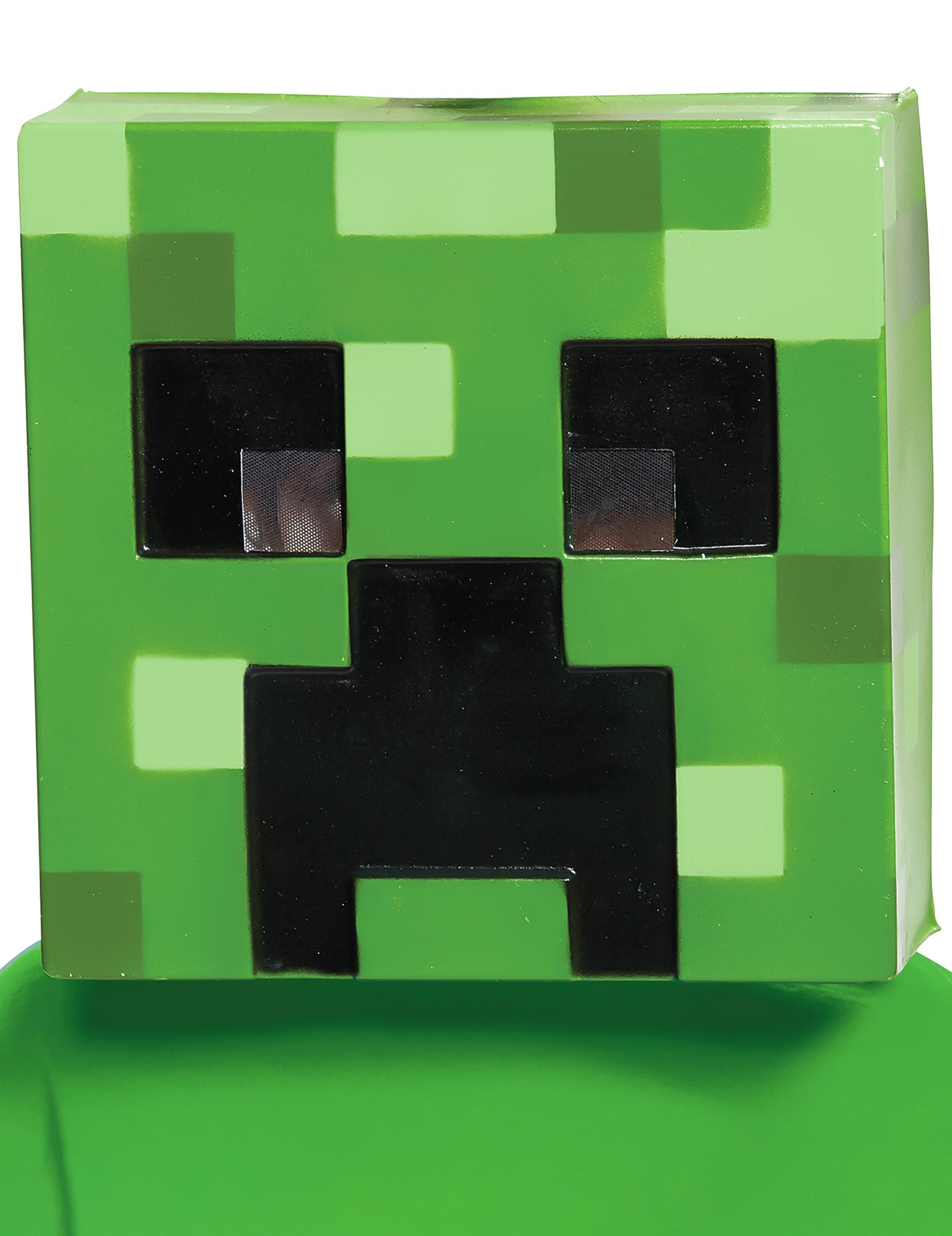 Maske Creeper Minecraft für Kinder 270740