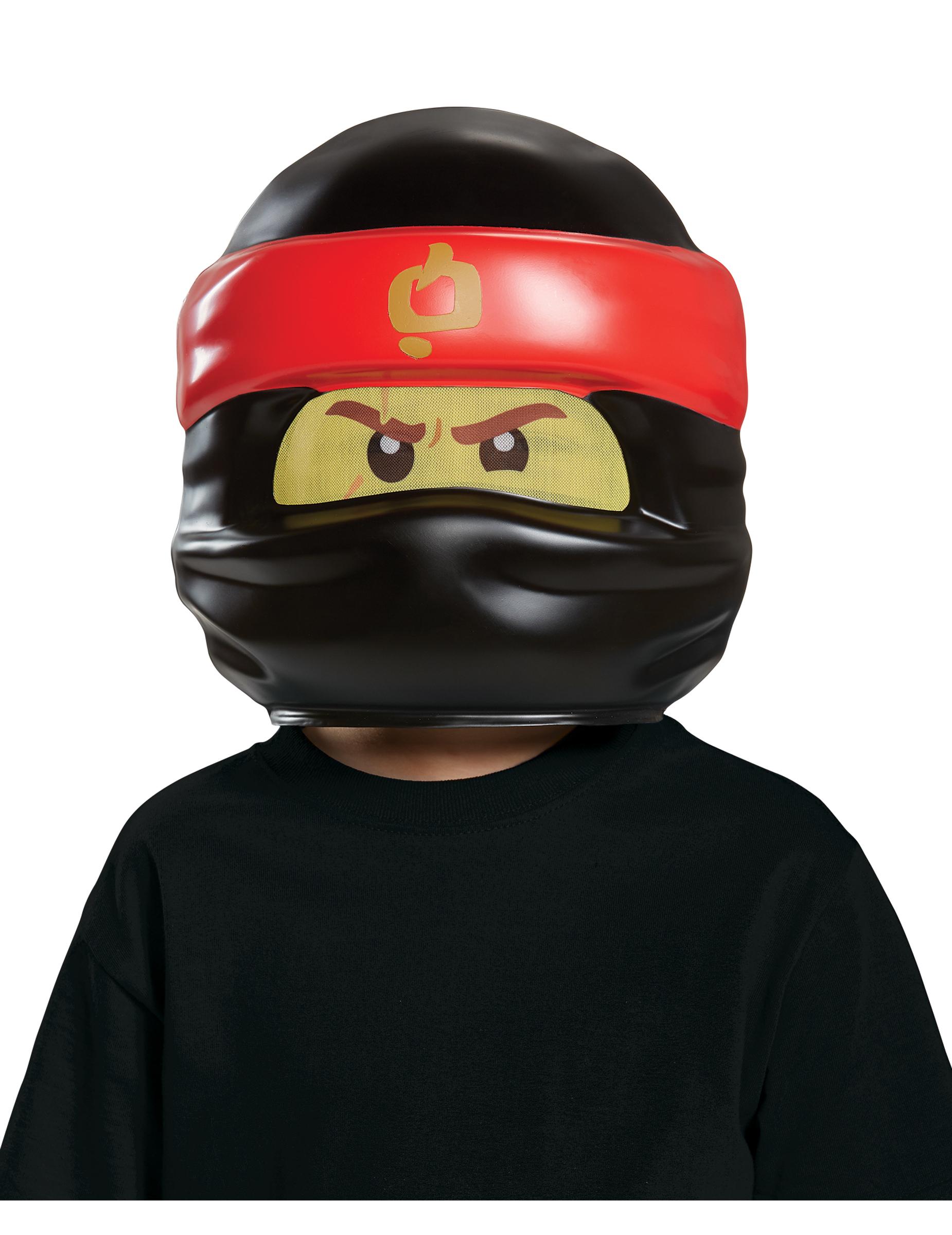 Kai Ninjago Maske für Kinder - The Lego Ninjago Movie 270748