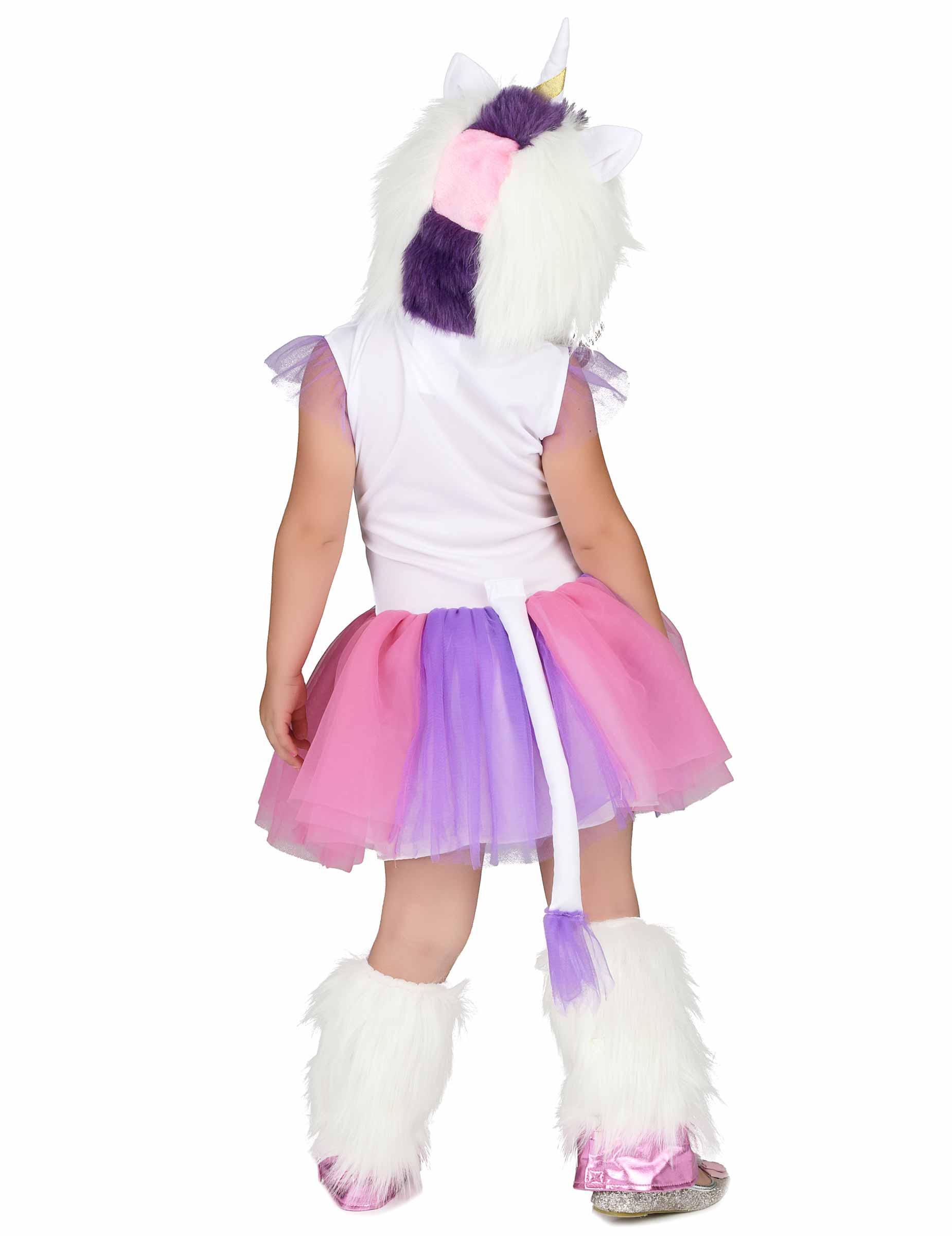 Einhorn Kostum Fur Madchen Regenbogen Bunt Kostume Fur Kinder Und