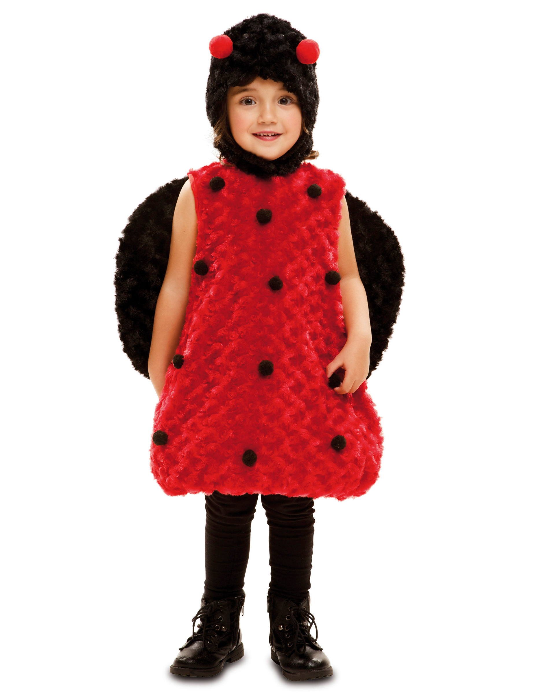 marienk fer overall f r kinder rot schwarz kost me f r. Black Bedroom Furniture Sets. Home Design Ideas