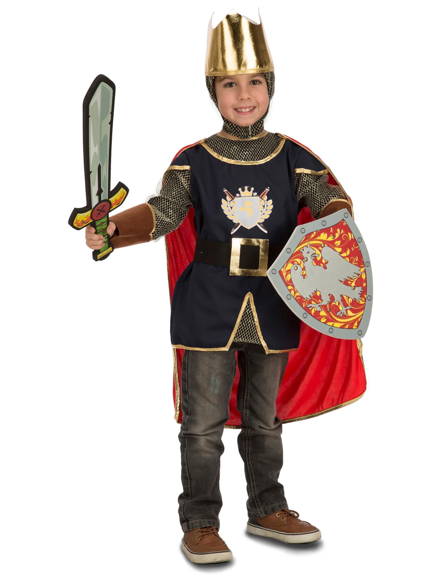 ritter kostüm mit zubehör für kinder kostüme für kinder