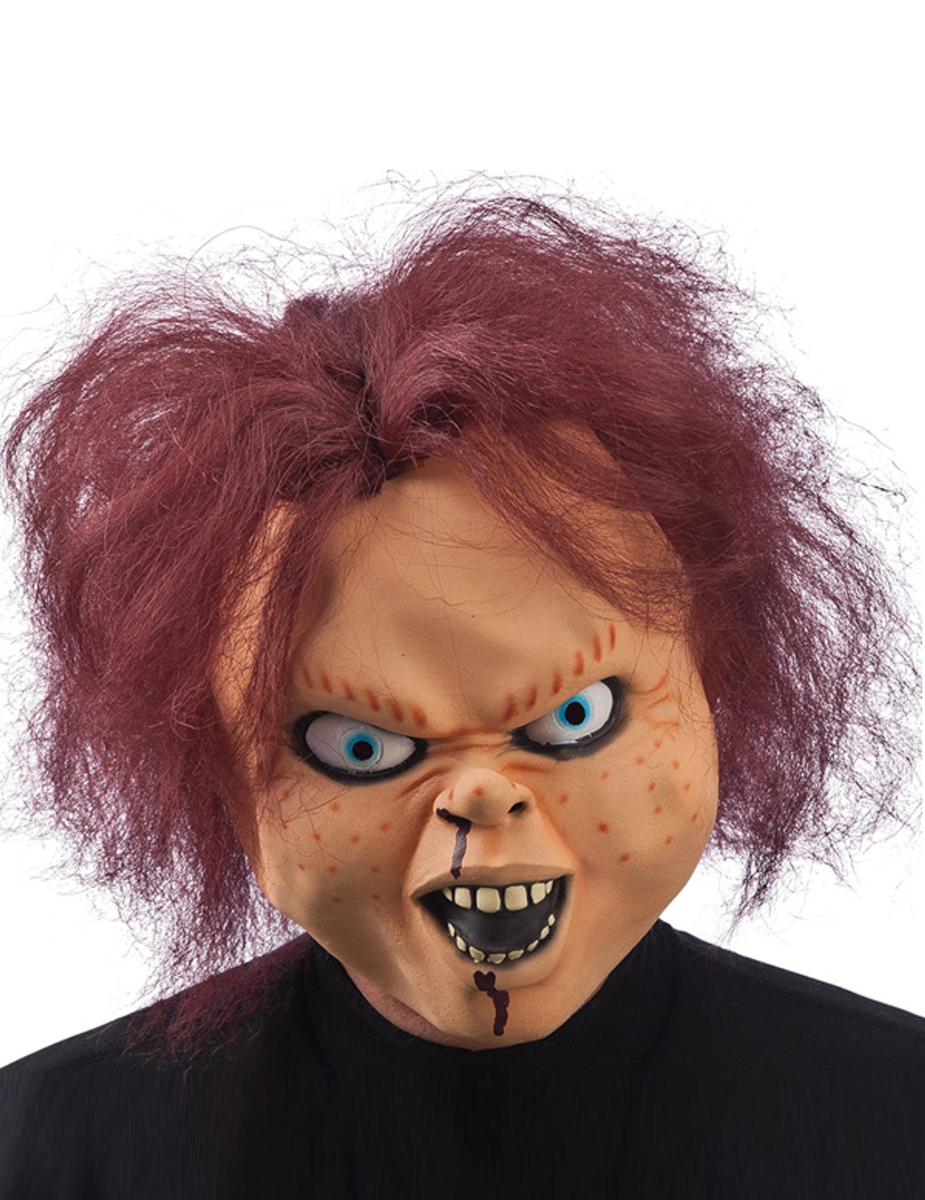 puppen maske f r erwachsene halloween masken und g nstige faschingskost me vegaoo. Black Bedroom Furniture Sets. Home Design Ideas
