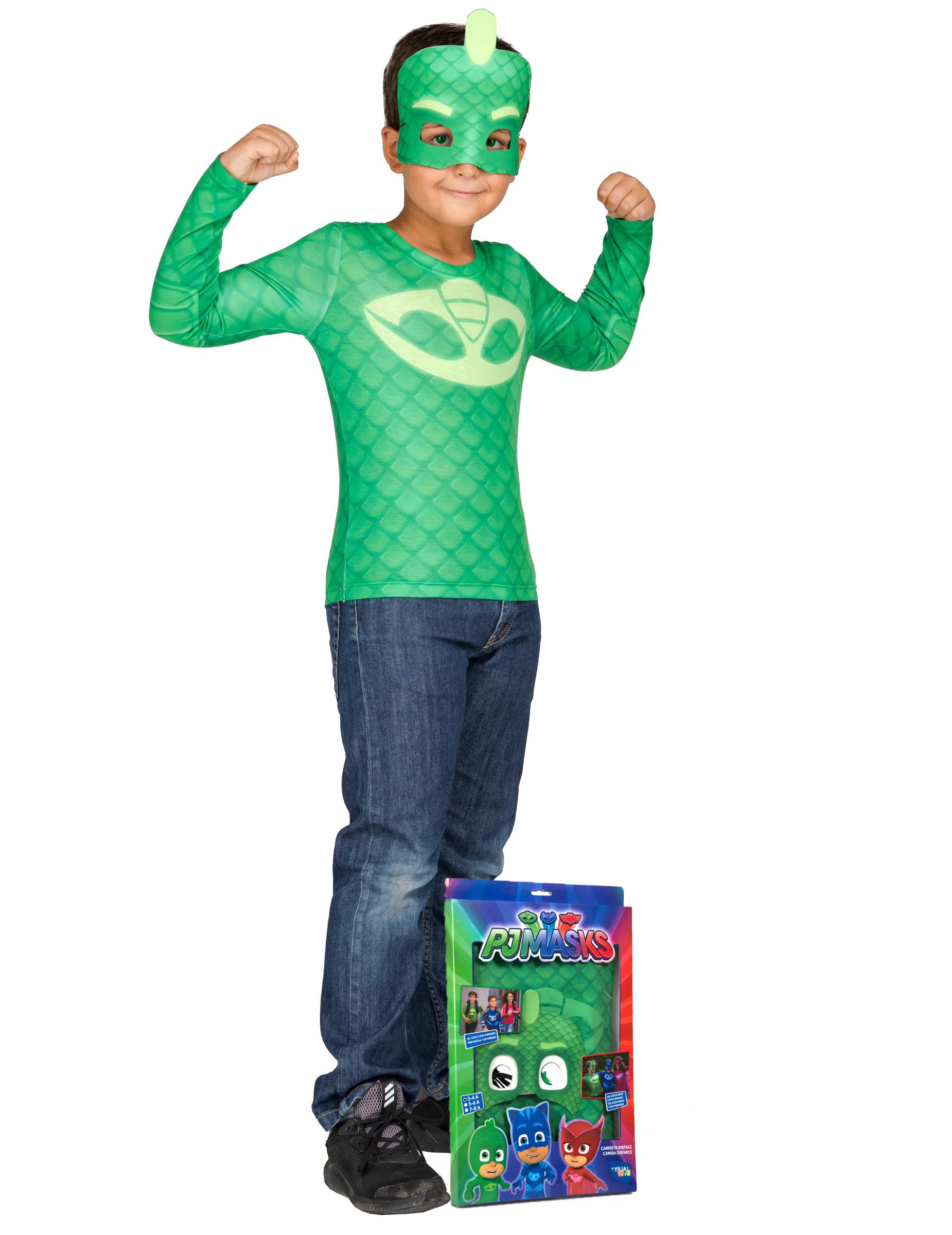 Greg Kostüm PJ Masks - Pyjamahelden - 122/128 (7-8 Jahre) 273353
