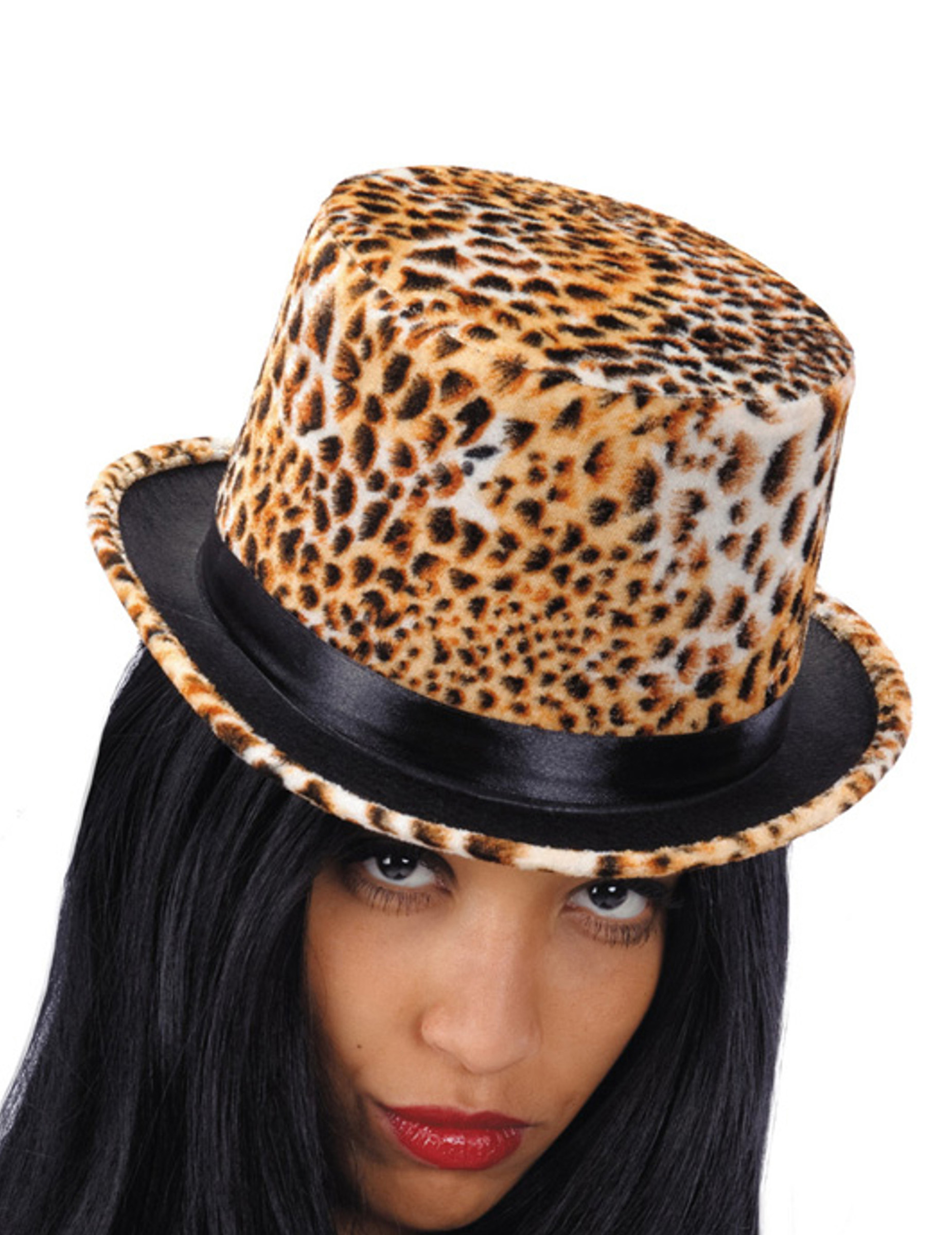 leoparden hut f r damen h te und g nstige faschingskost me vegaoo. Black Bedroom Furniture Sets. Home Design Ideas