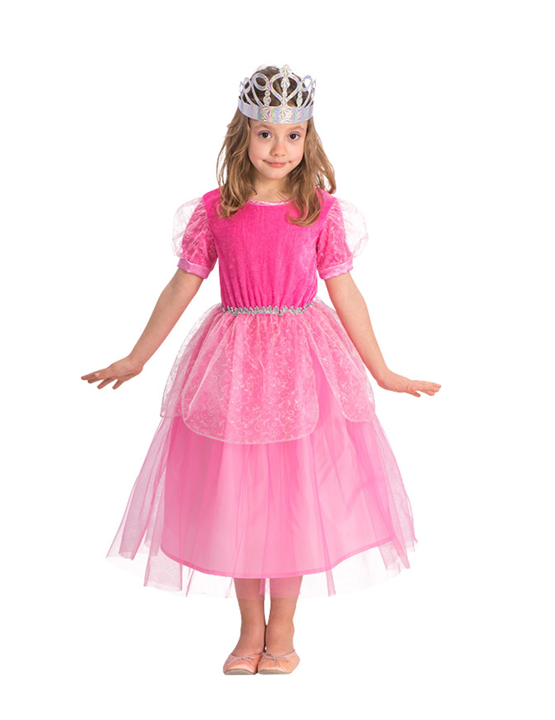 prinzessin kinder-kostüm rosa-pink: kostüme für kinder,und