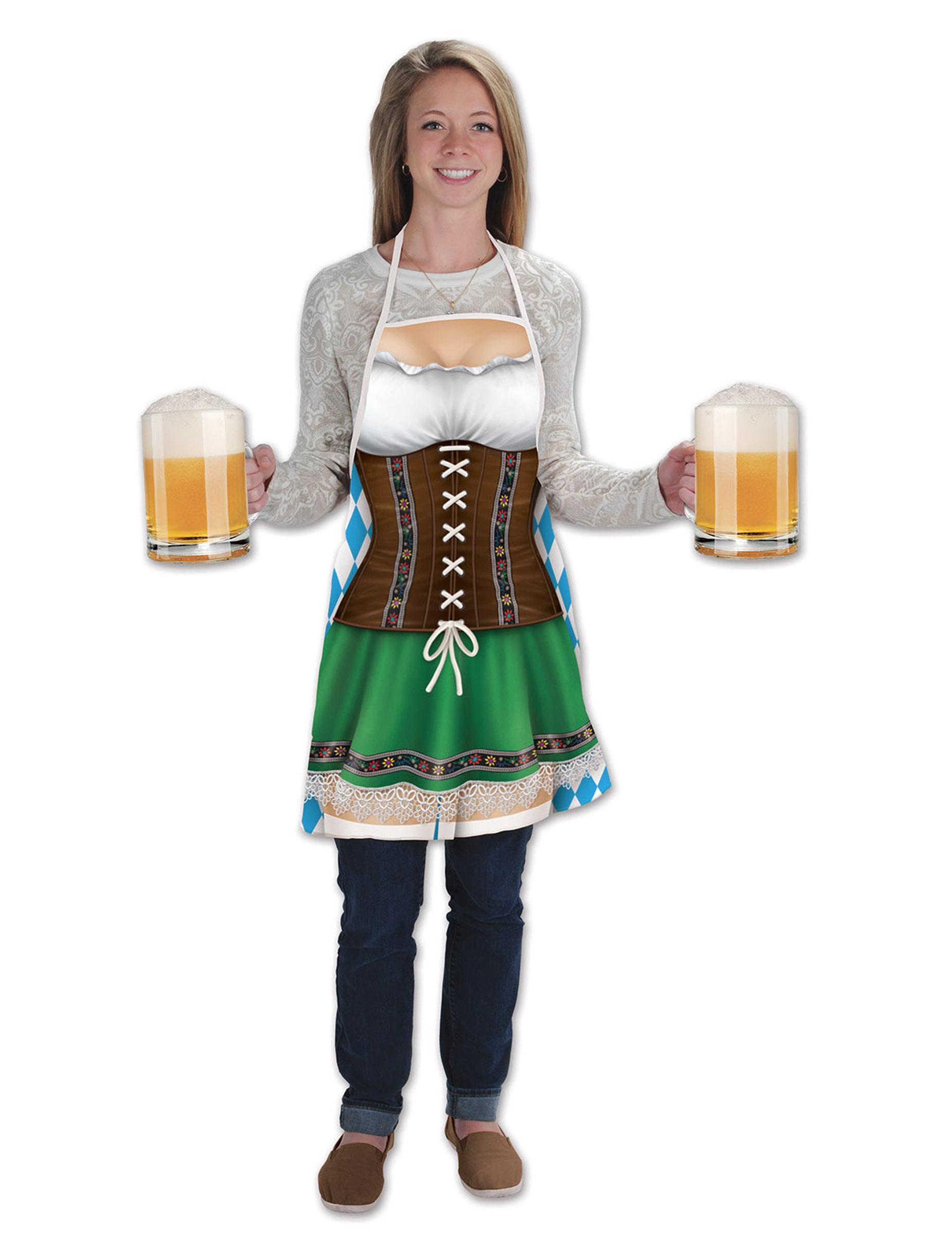 Lange Schürze Oktoberfest 273616