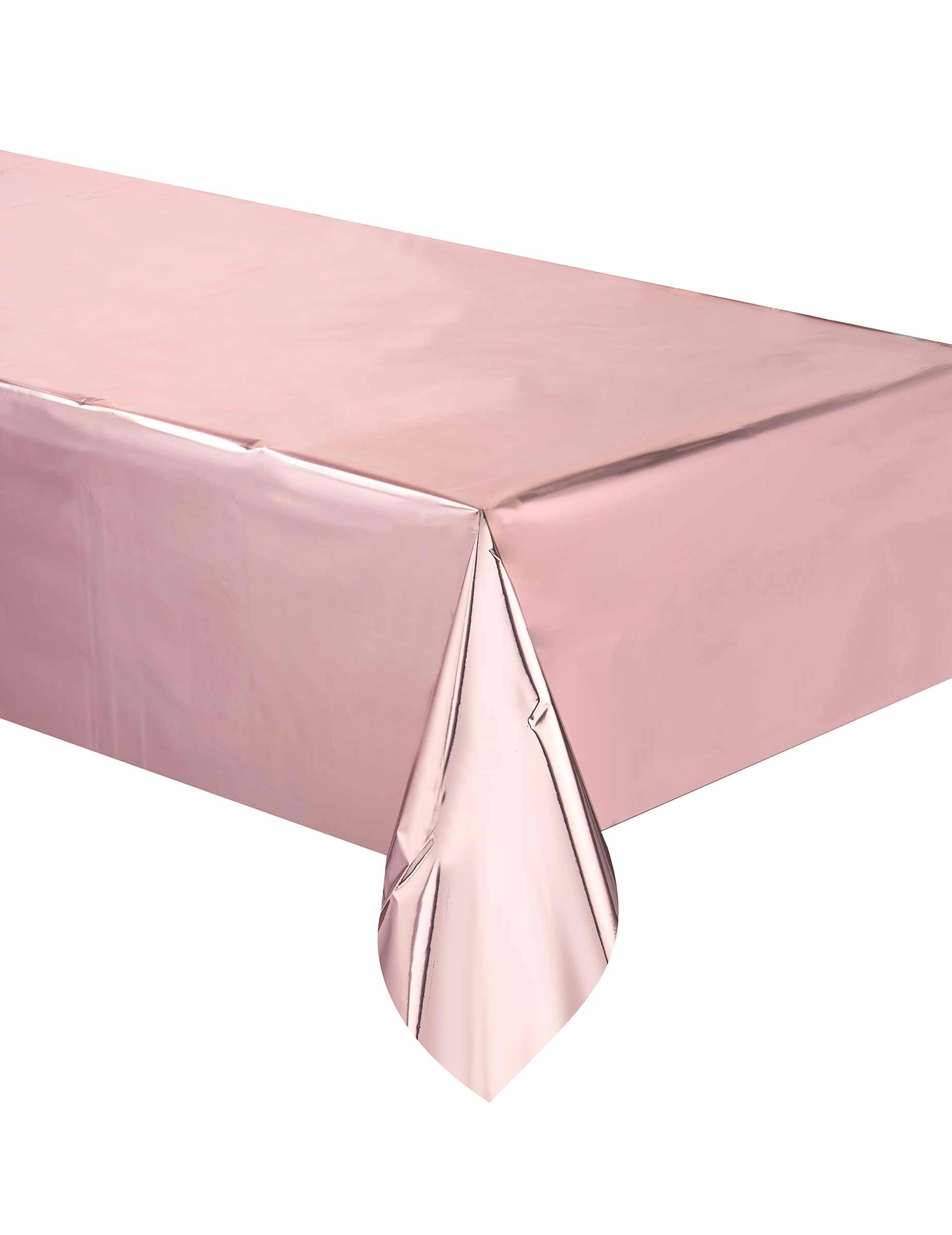 Tischdecke rosa 137x274cm,