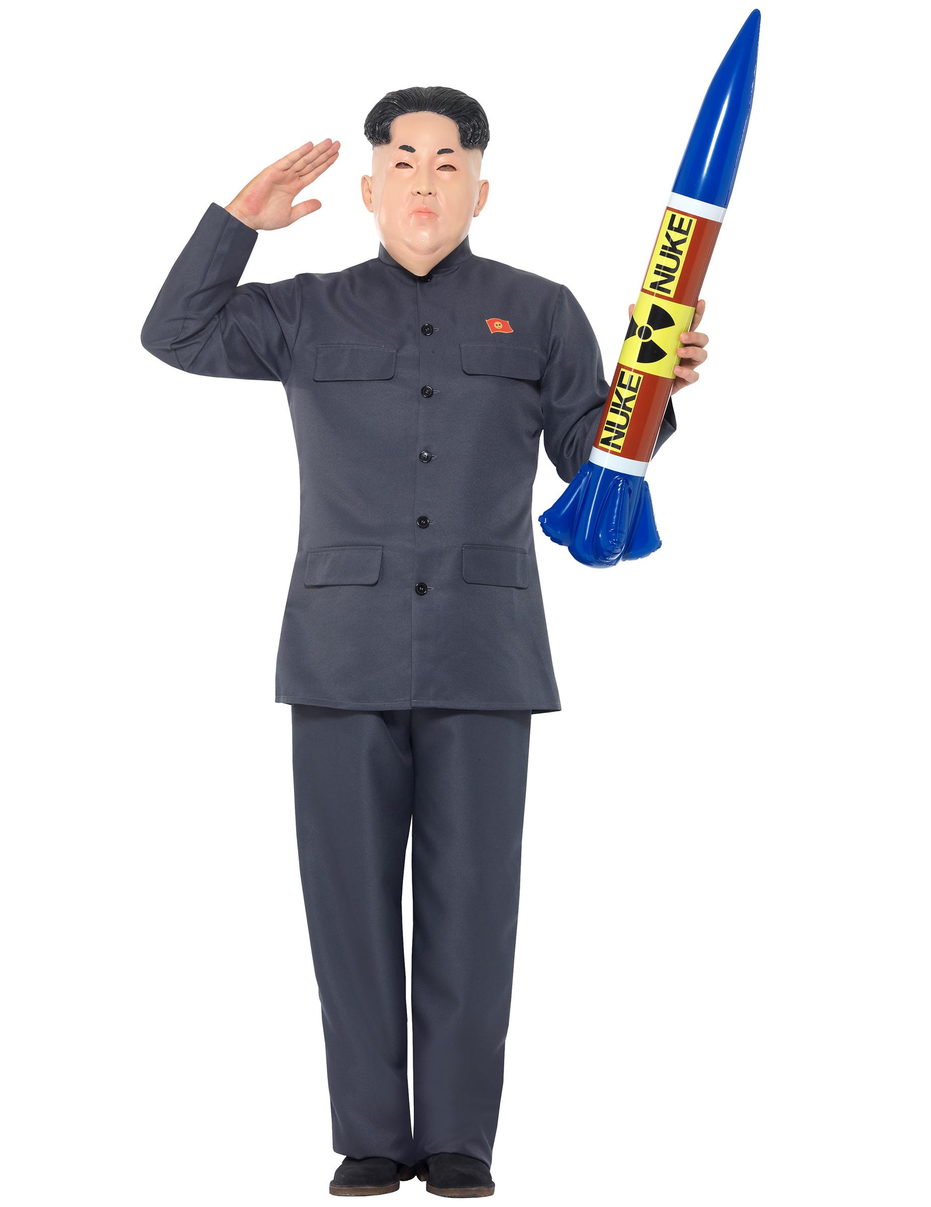 Nordkoreanischer Diktator Kostüm für Erwachsene - L 274302