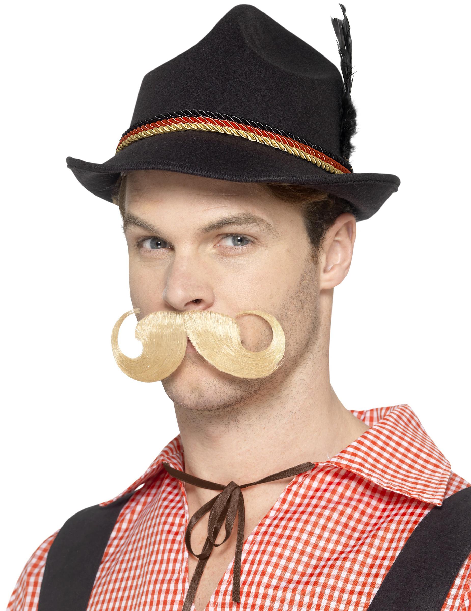 #Bayern-Hut Deutschland für Erwachsene schwarz-rot-gold#