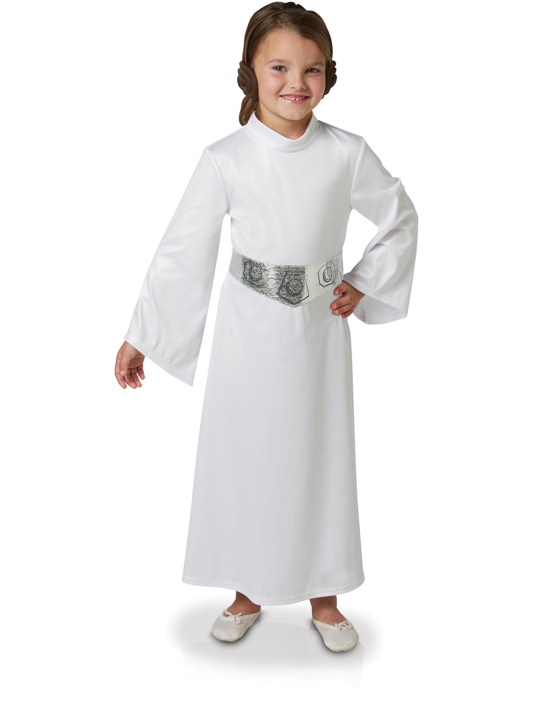 Prinzessin Leia Star Wars Kinder Kostüm Weiß Silber Kostüme Für