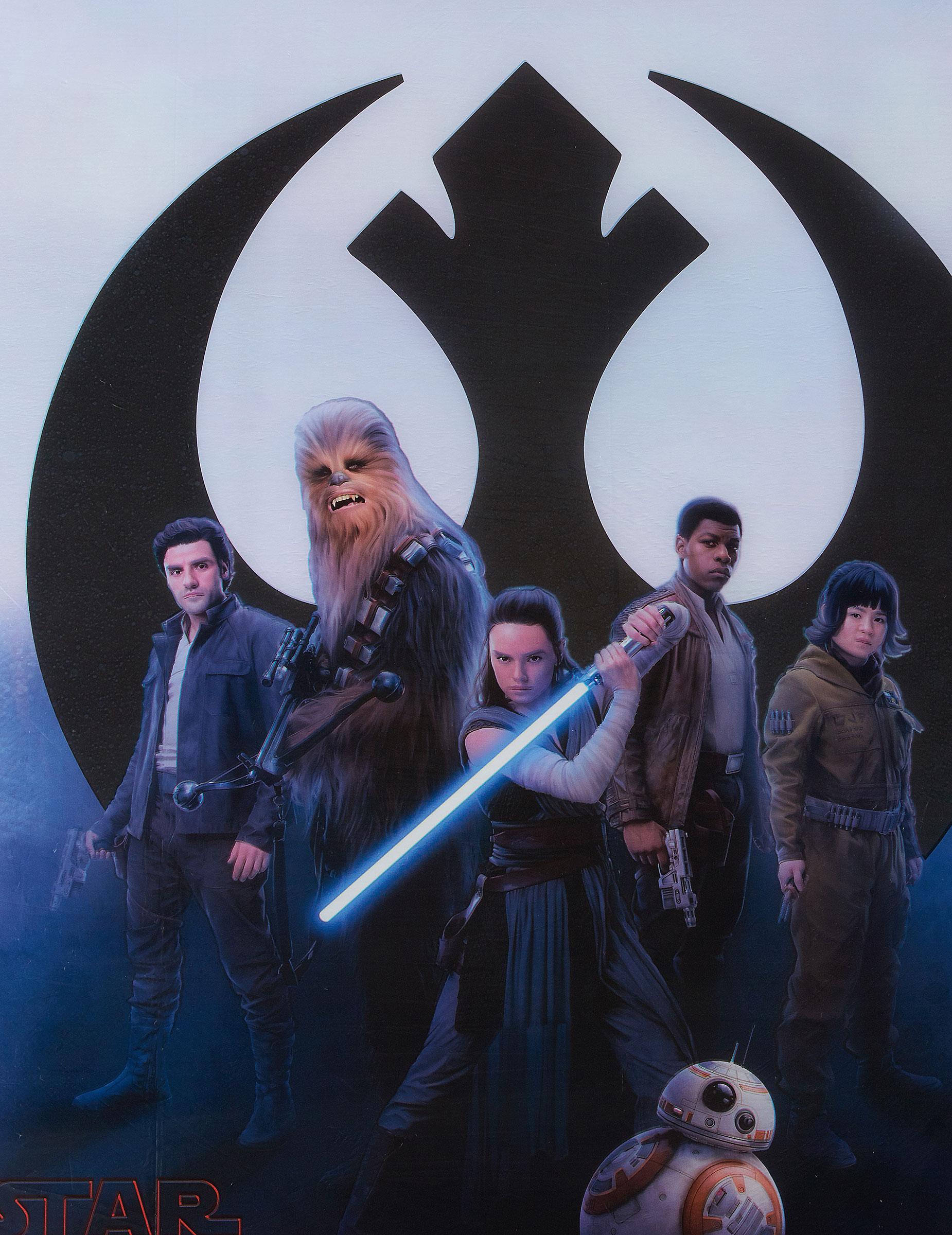 1 Tischdecke Star Wars Die Letzten Jedi 120 X 180 Cm