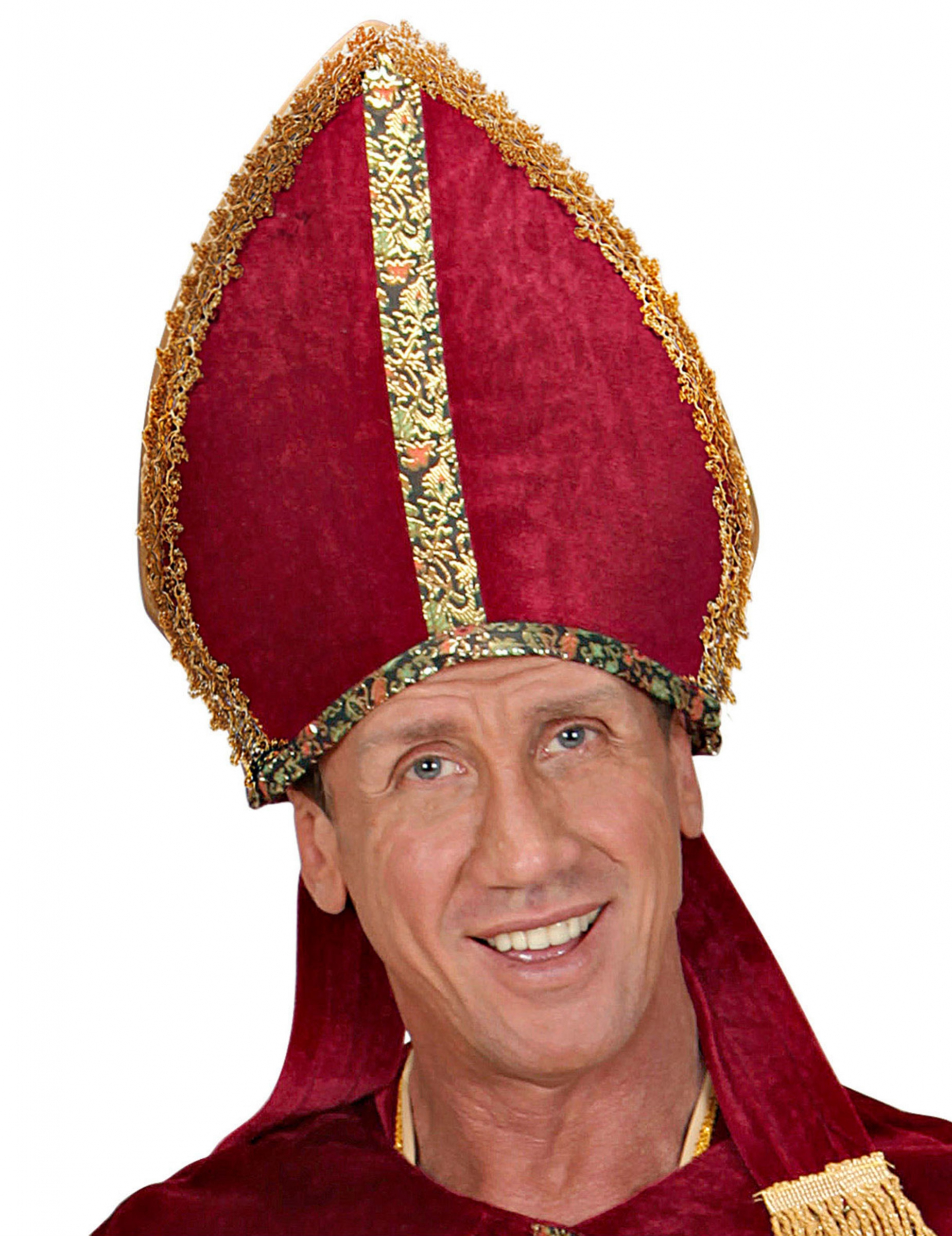 Bischof Kopfbedeckung