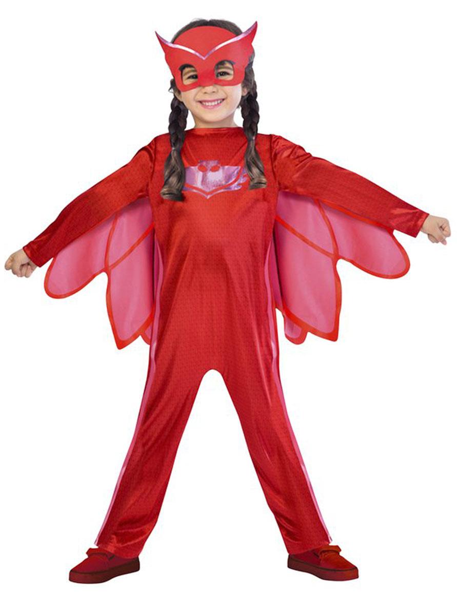 Amaya Kostüm für Kinder PJ Masks - 122/128 (7-8 Jahre) 275274