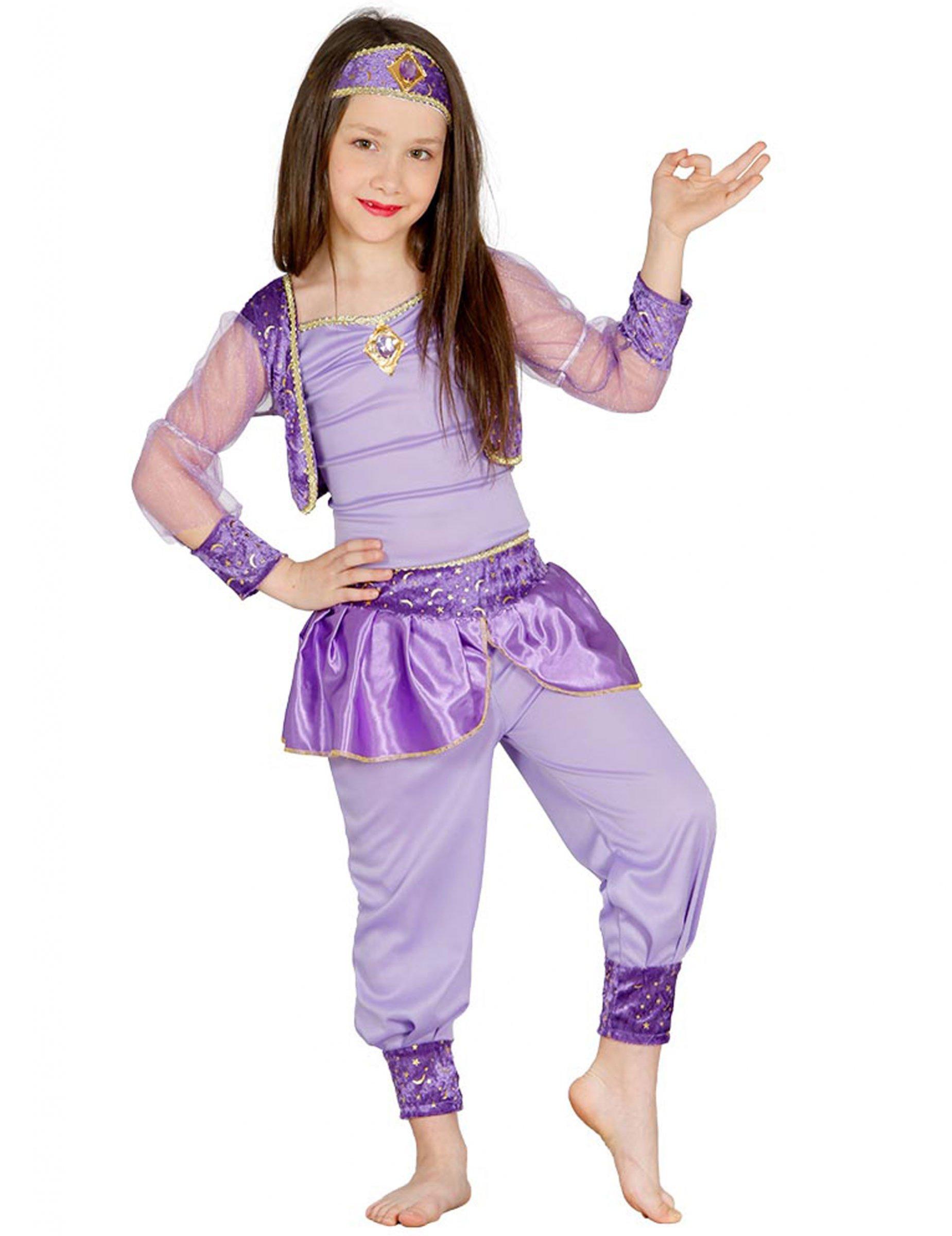 orientalische ballerina kost m f r m dchen lila kost me f r kinder und g nstige. Black Bedroom Furniture Sets. Home Design Ideas