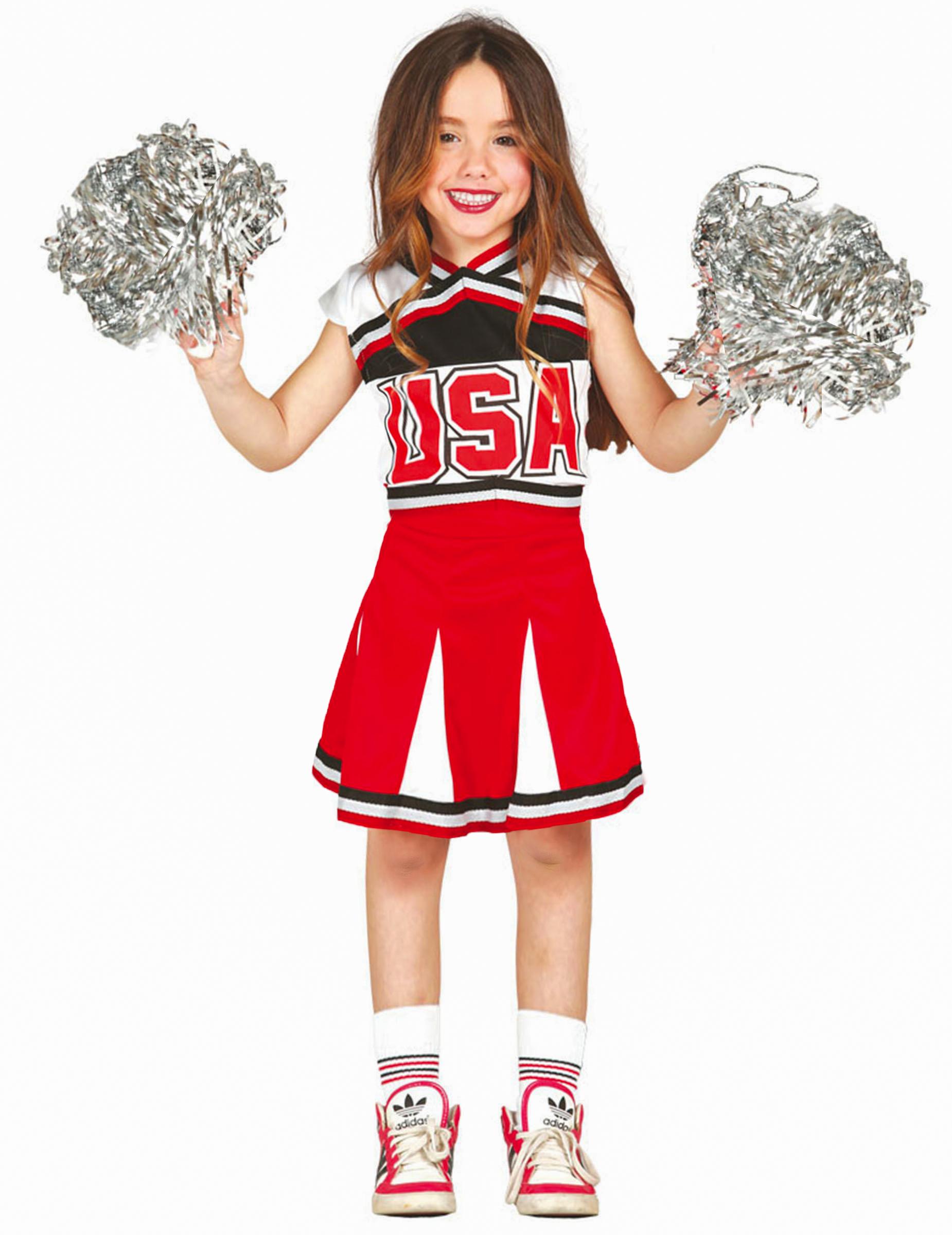 Kostum Cheerleader Fur Kinder Kostume Fur Kinder Und Gunstige