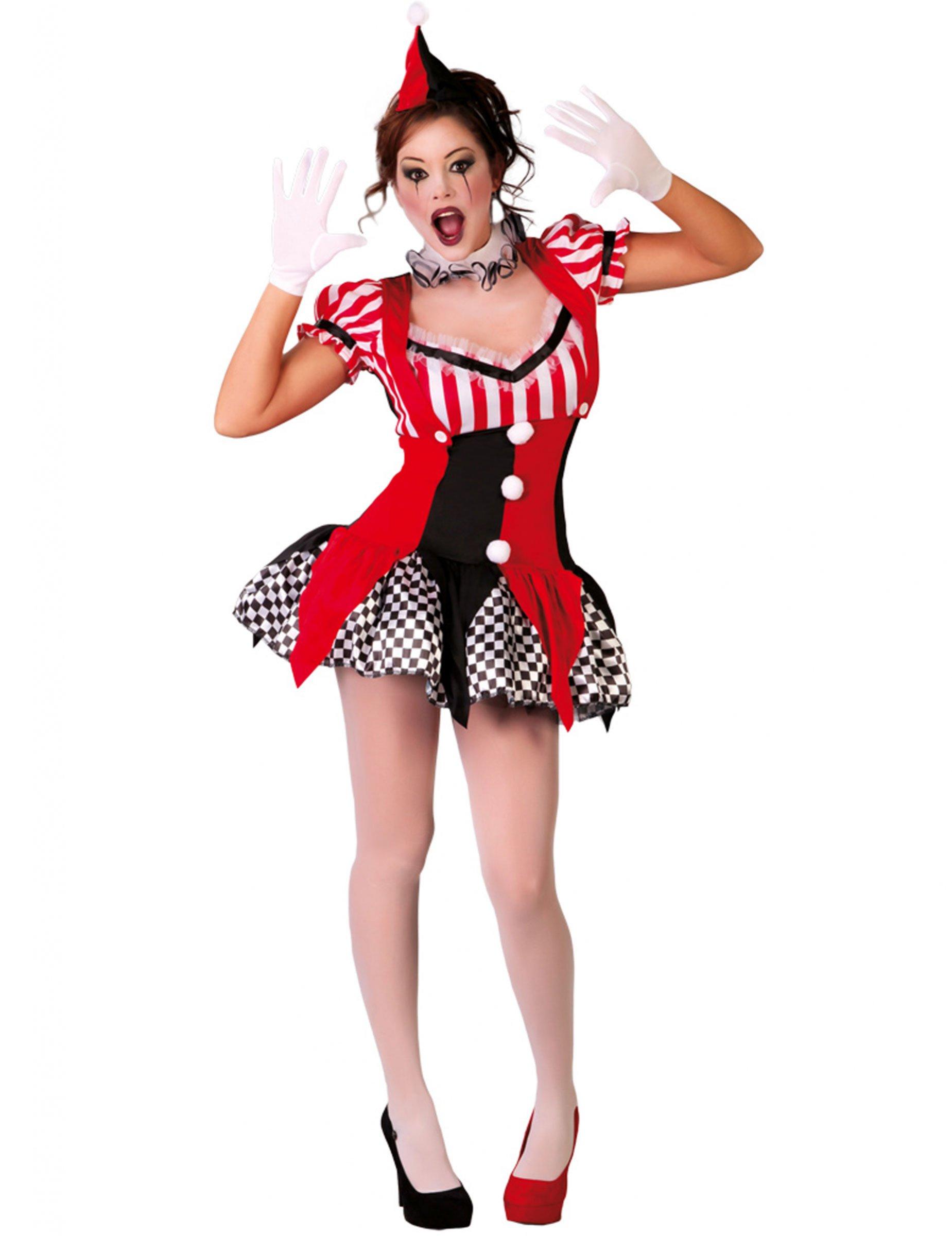 Kostum Joker Harlekin Sexy Fur Damen Kostume Fur Erwachsene Und