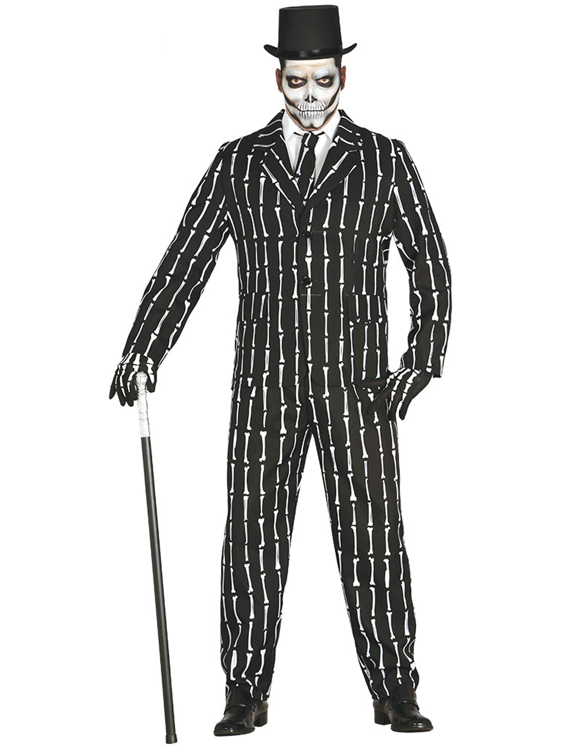 anzug skelett f r herren kost me f r erwachsene und g nstige faschingskost me vegaoo. Black Bedroom Furniture Sets. Home Design Ideas