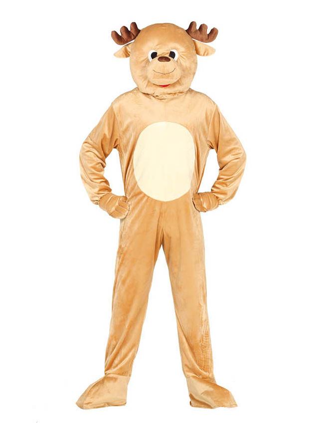 Rentier Kostüm für Erwachsene Maskottchen Weihnachten 275925