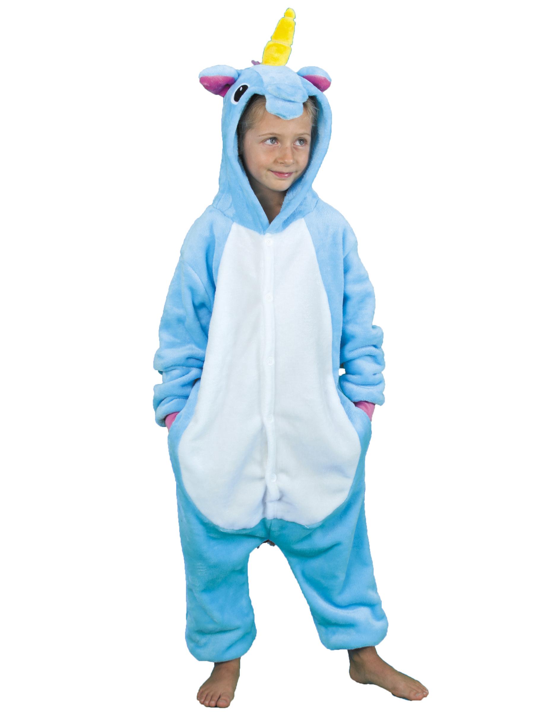 Einhorn Kostum Fur Kinder Hellblau Kostume Fur Kinder Und Gunstige