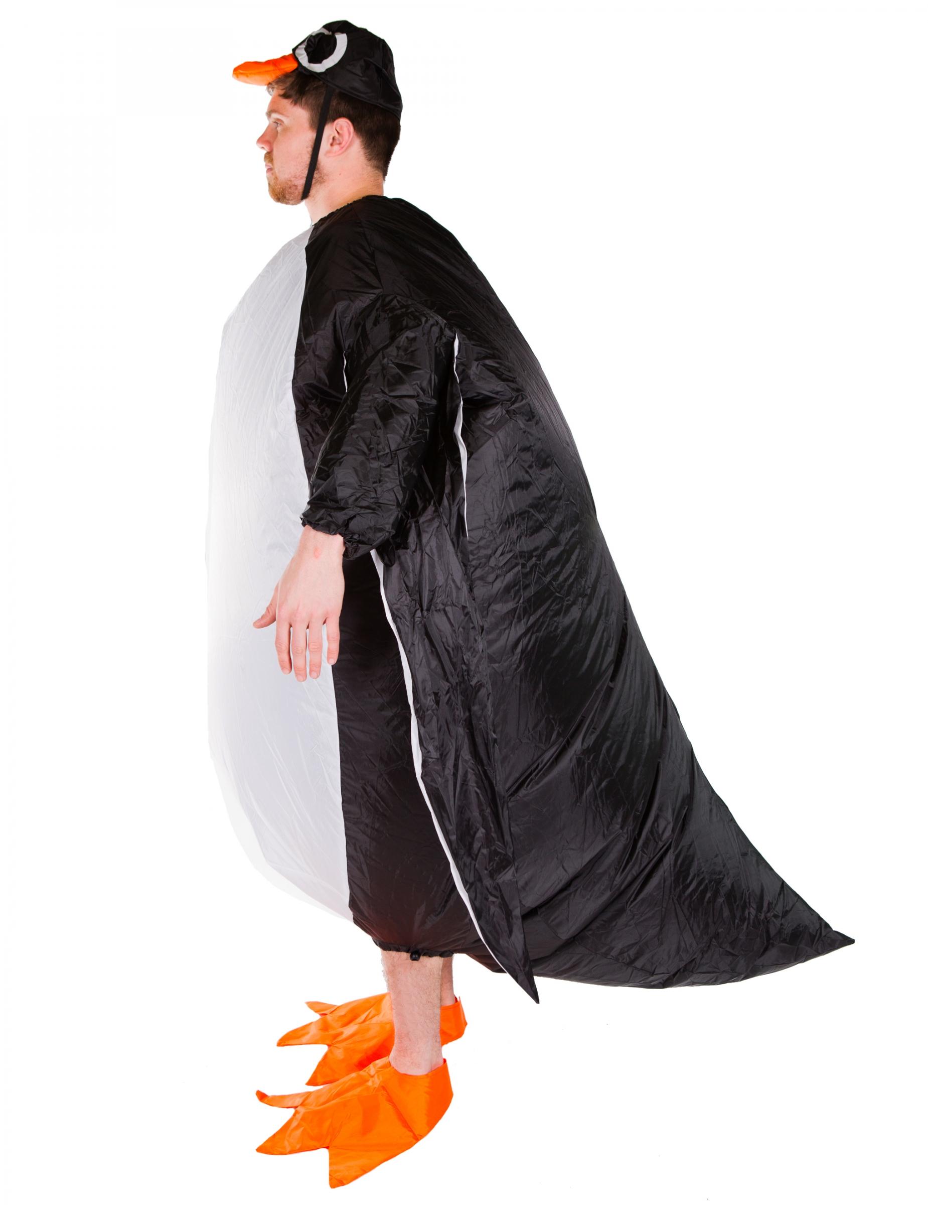 pinguin kost m aufblasbar f r erwachsene schwarz weiss kost me f r erwachsene und g nstige. Black Bedroom Furniture Sets. Home Design Ideas
