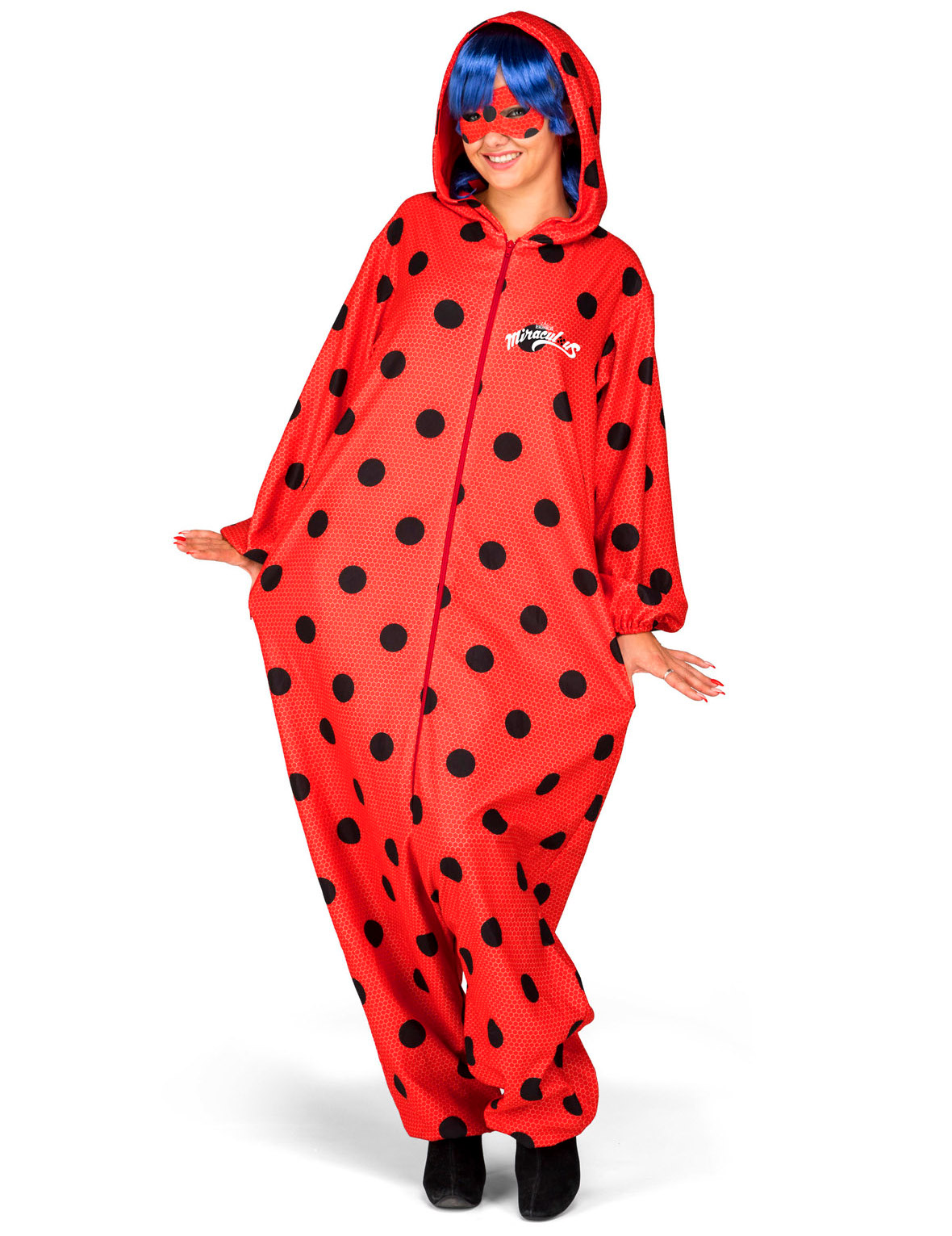 ladybug kost m einteiler f r erwachsene kost me f r. Black Bedroom Furniture Sets. Home Design Ideas