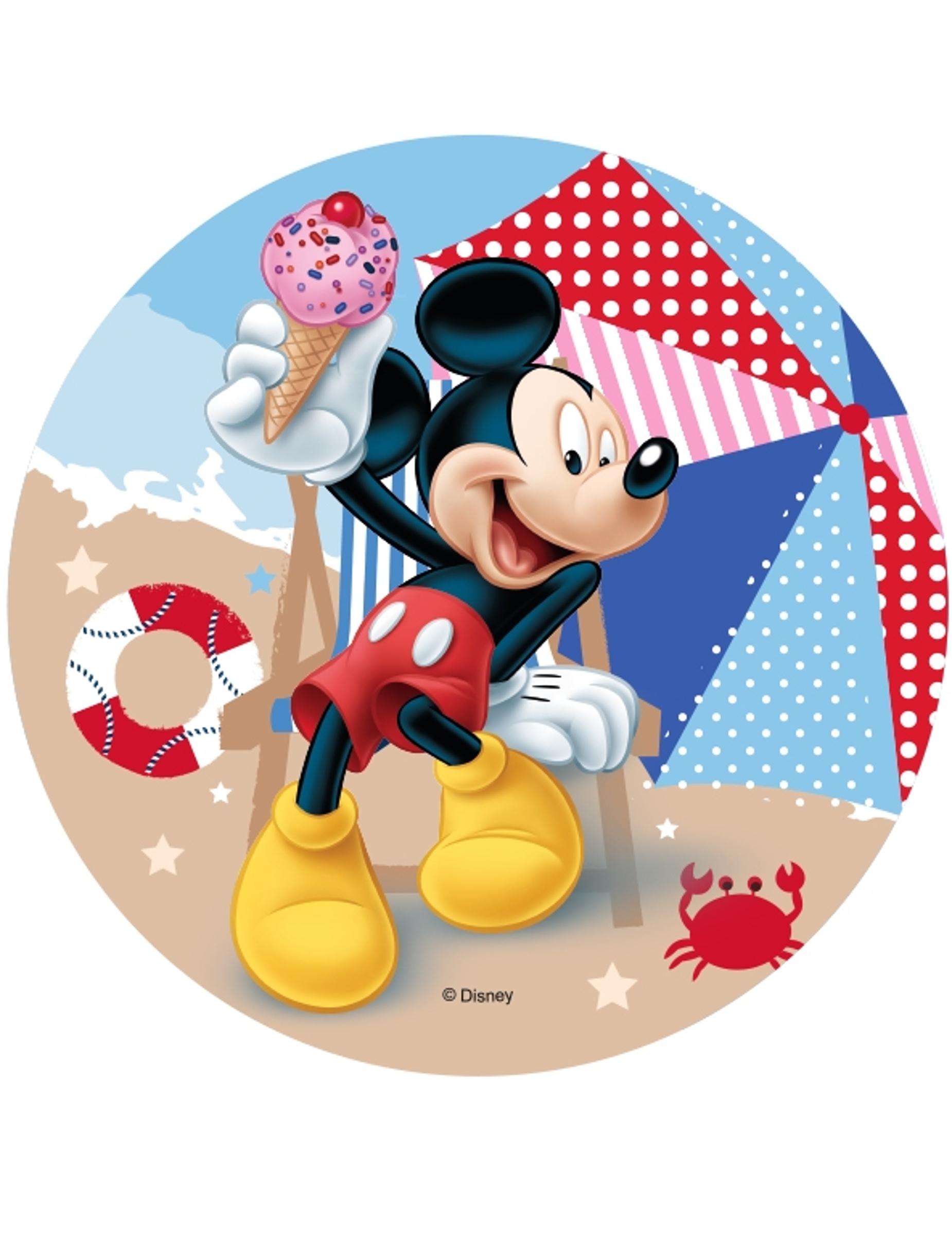 *Mickey essbare Kuchenauflage 14,5 cm*