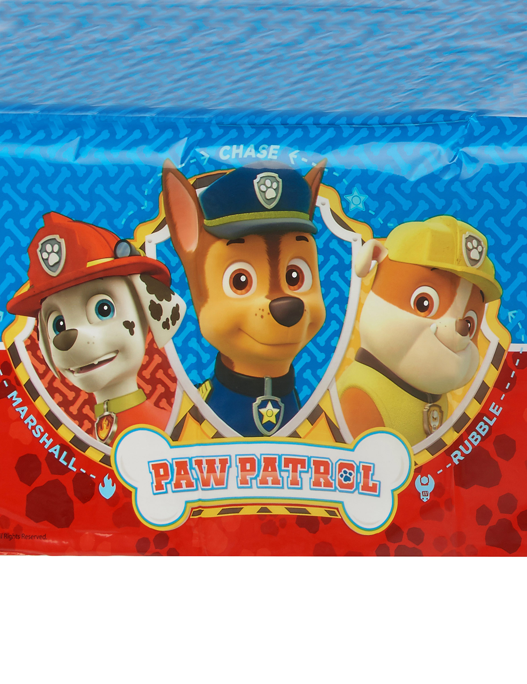 paw patrol tischdecke hundestaffel 120 x 180 cm bunt partydeko und g nstige faschingskost me. Black Bedroom Furniture Sets. Home Design Ideas