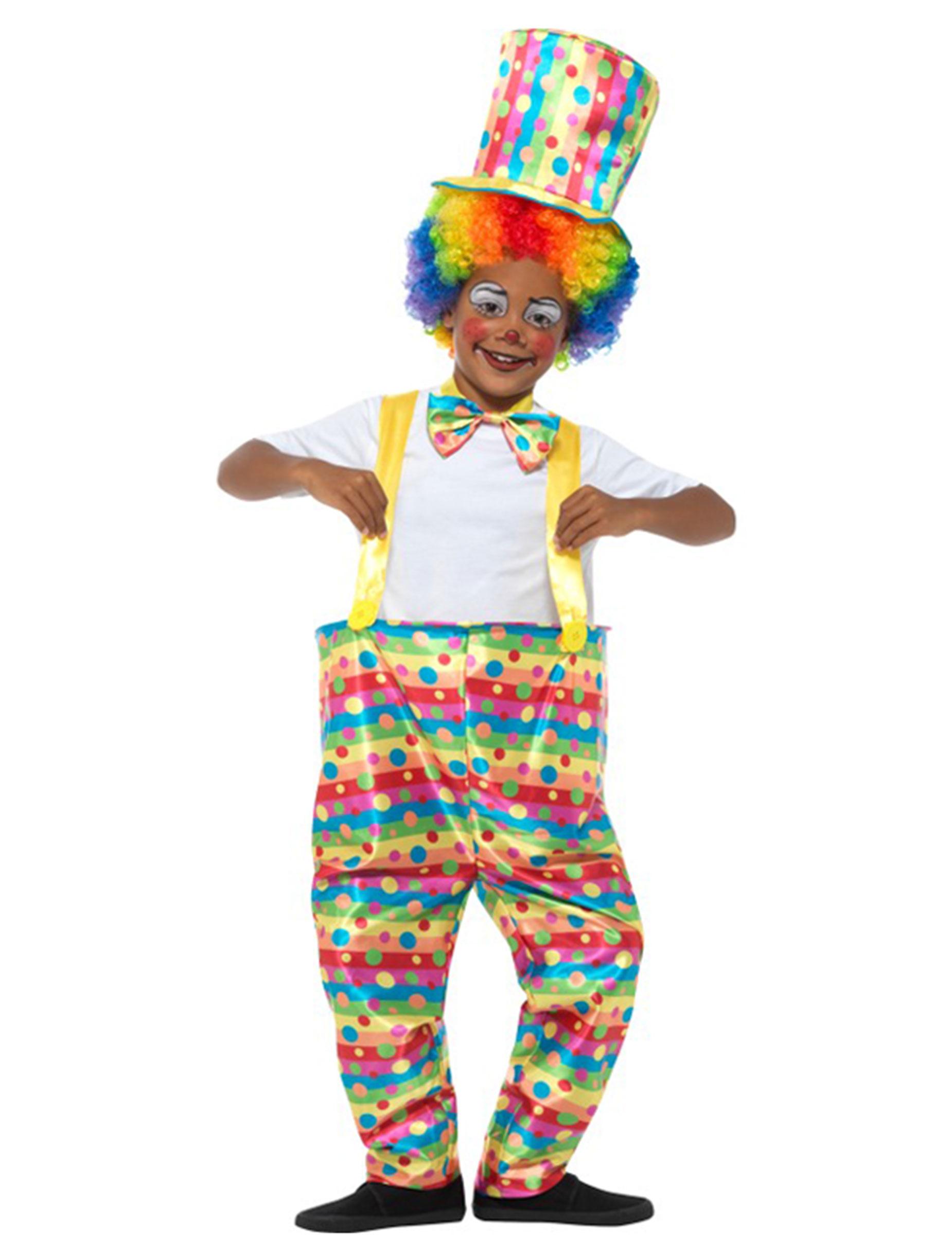 #Clown-Verkleidung für Jungen Zirkus bunt#
