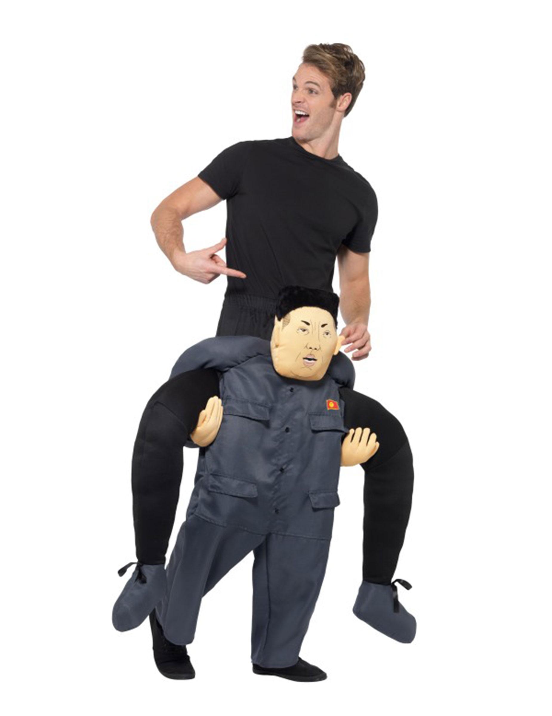 Carry Me Kostüm Nordkoreanischer Diktator für Erwachsene - M 279219
