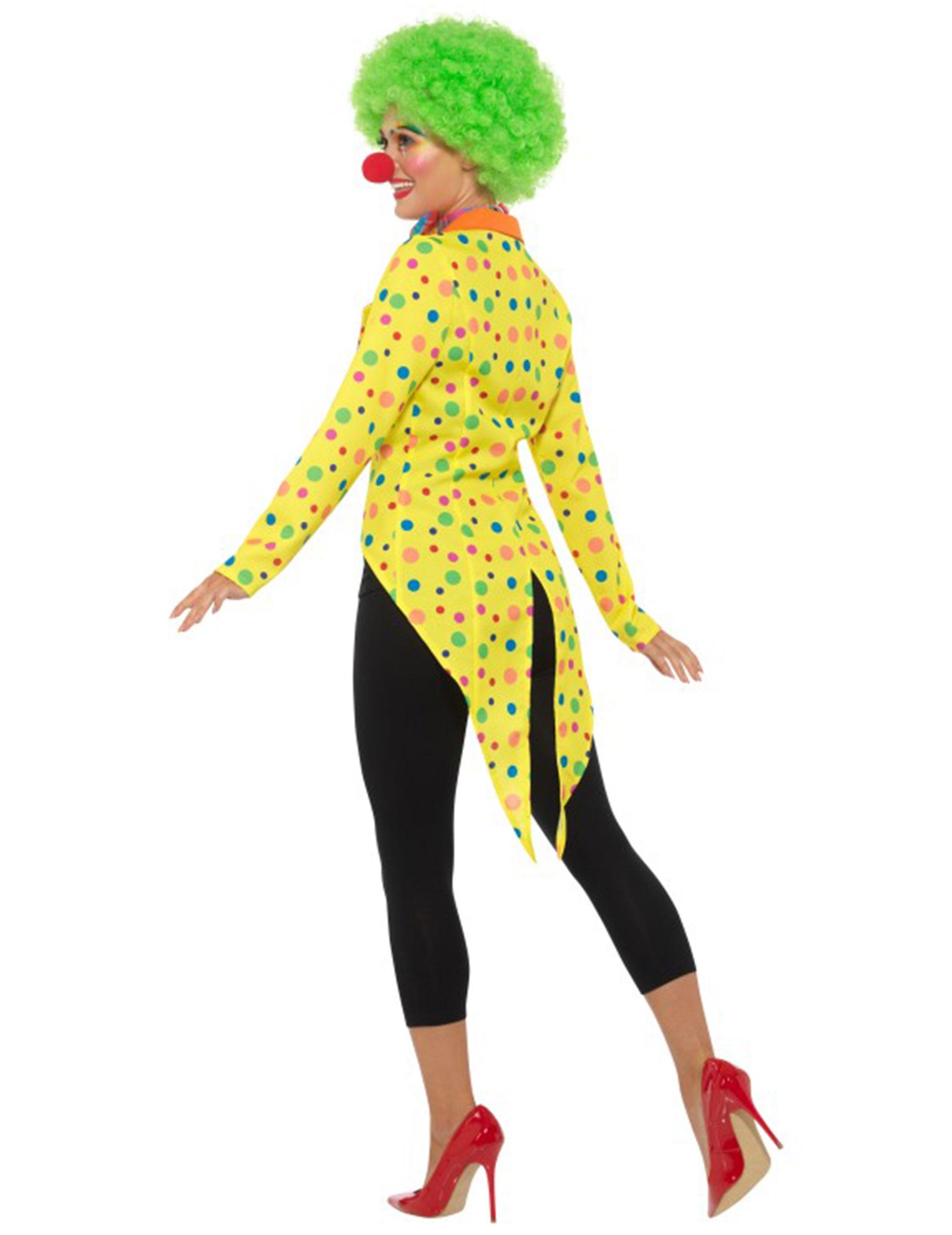 clown kost mzubeh r f r damen zirkus bunt kost me f r. Black Bedroom Furniture Sets. Home Design Ideas