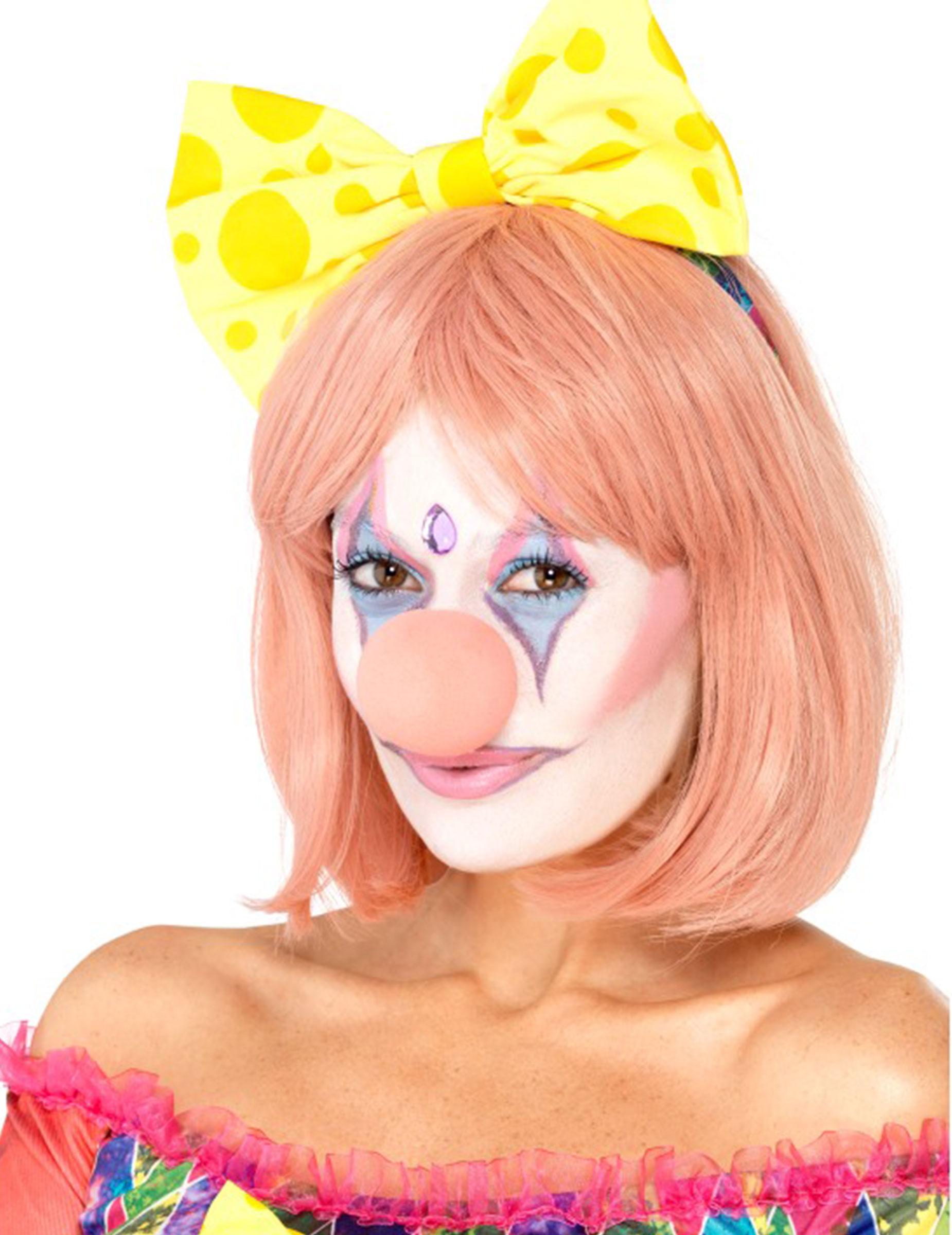 Clown Make Up Set Fur Damen Schminke 8 Teilig Bunt Schminke Und