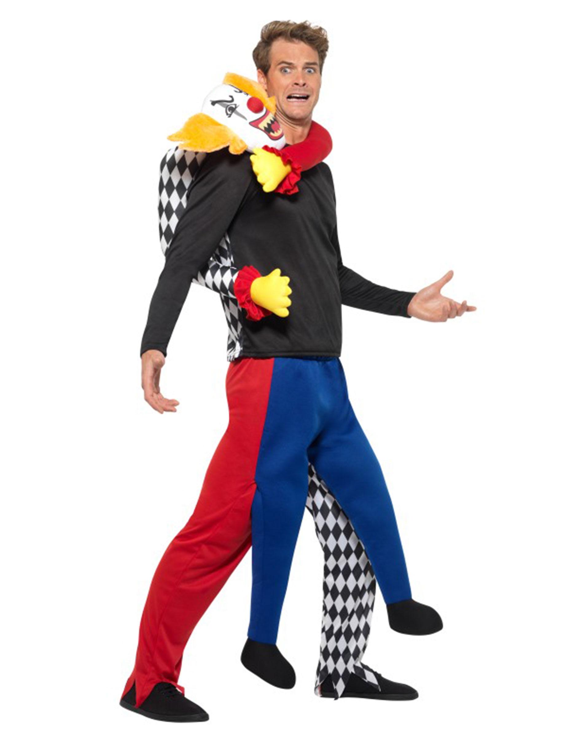 psycho clown humorvolles carry me kost m f r halloween. Black Bedroom Furniture Sets. Home Design Ideas