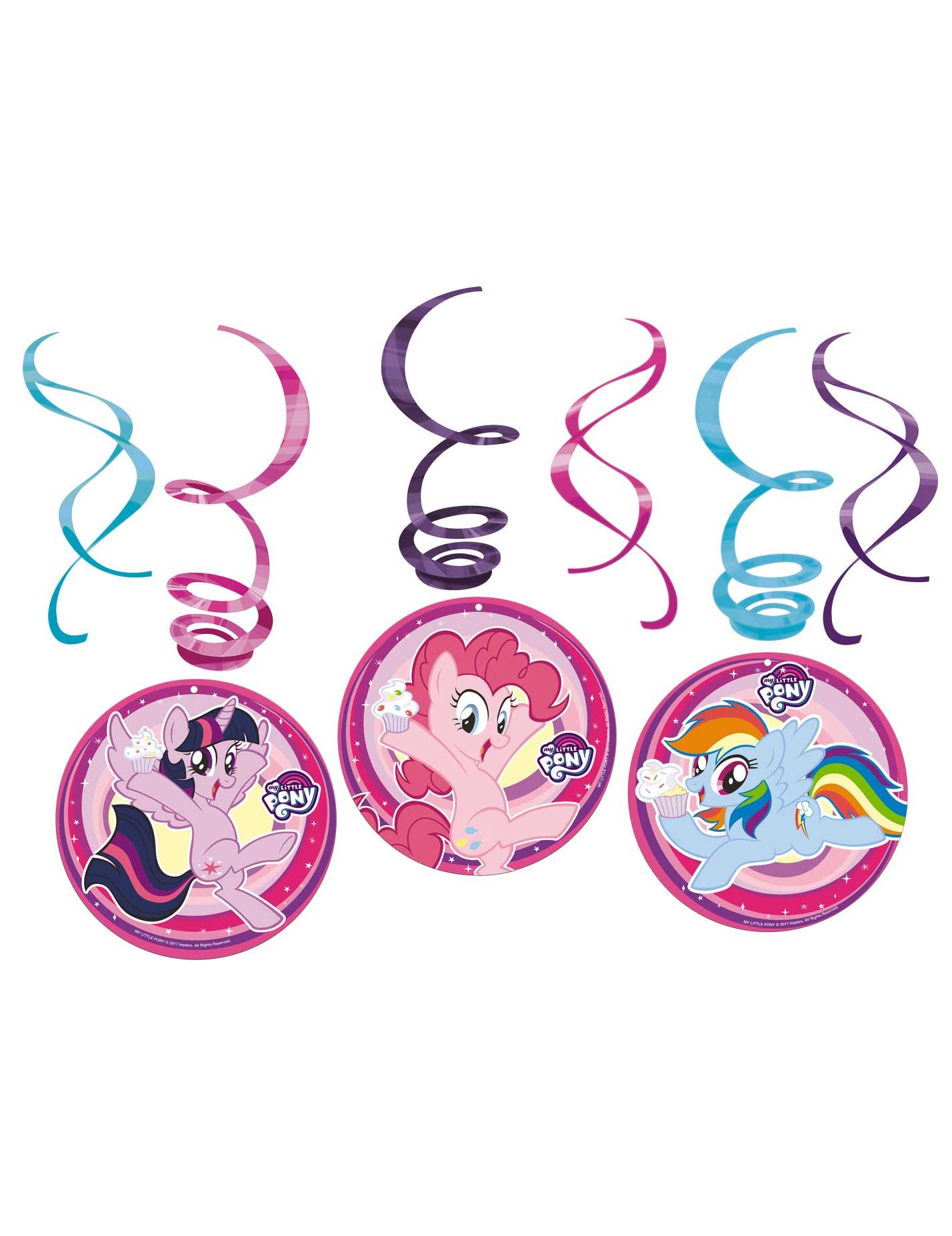 #Dekorationsspiralen-Set My little Pony#