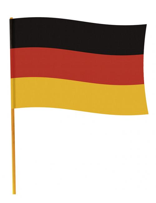 fanartikel deutschland fahne 70 x 90 cm schwarz rot gold partydeko und g nstige. Black Bedroom Furniture Sets. Home Design Ideas