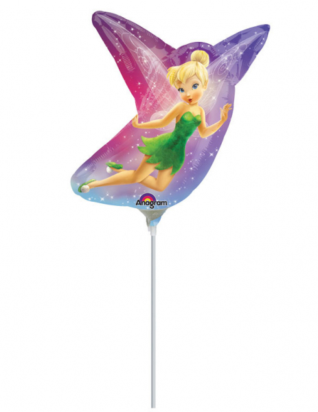 #Kleiner Aluminium-Ballon der Fee Clochette™ (Tinker Bell™) 25 x 27 cm#