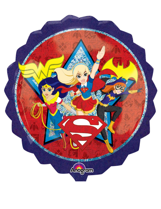 #Aluminium-Ballon DC Super Hero Girls#