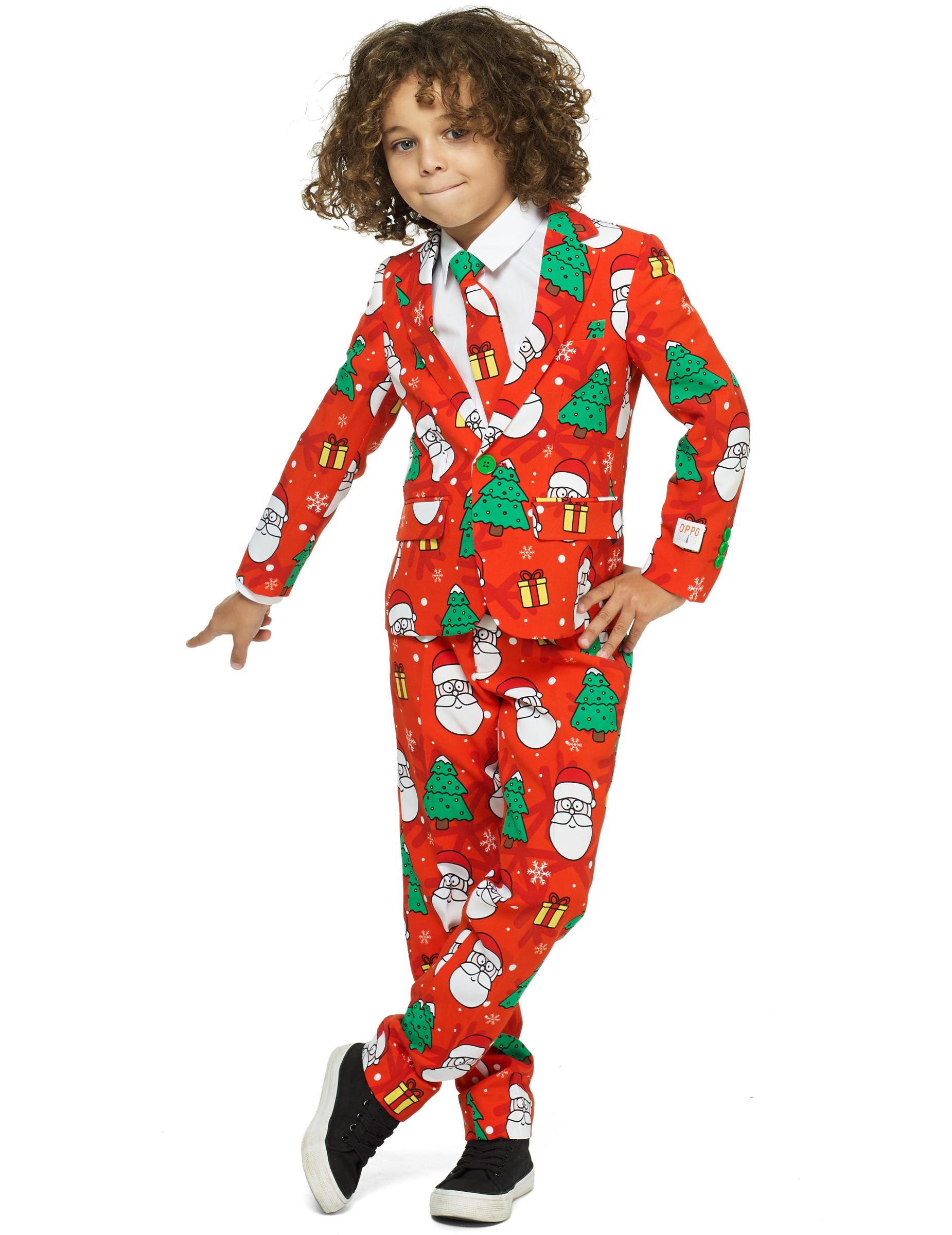mr holiday opposuits anzug f r kinder weihnachten bunt. Black Bedroom Furniture Sets. Home Design Ideas