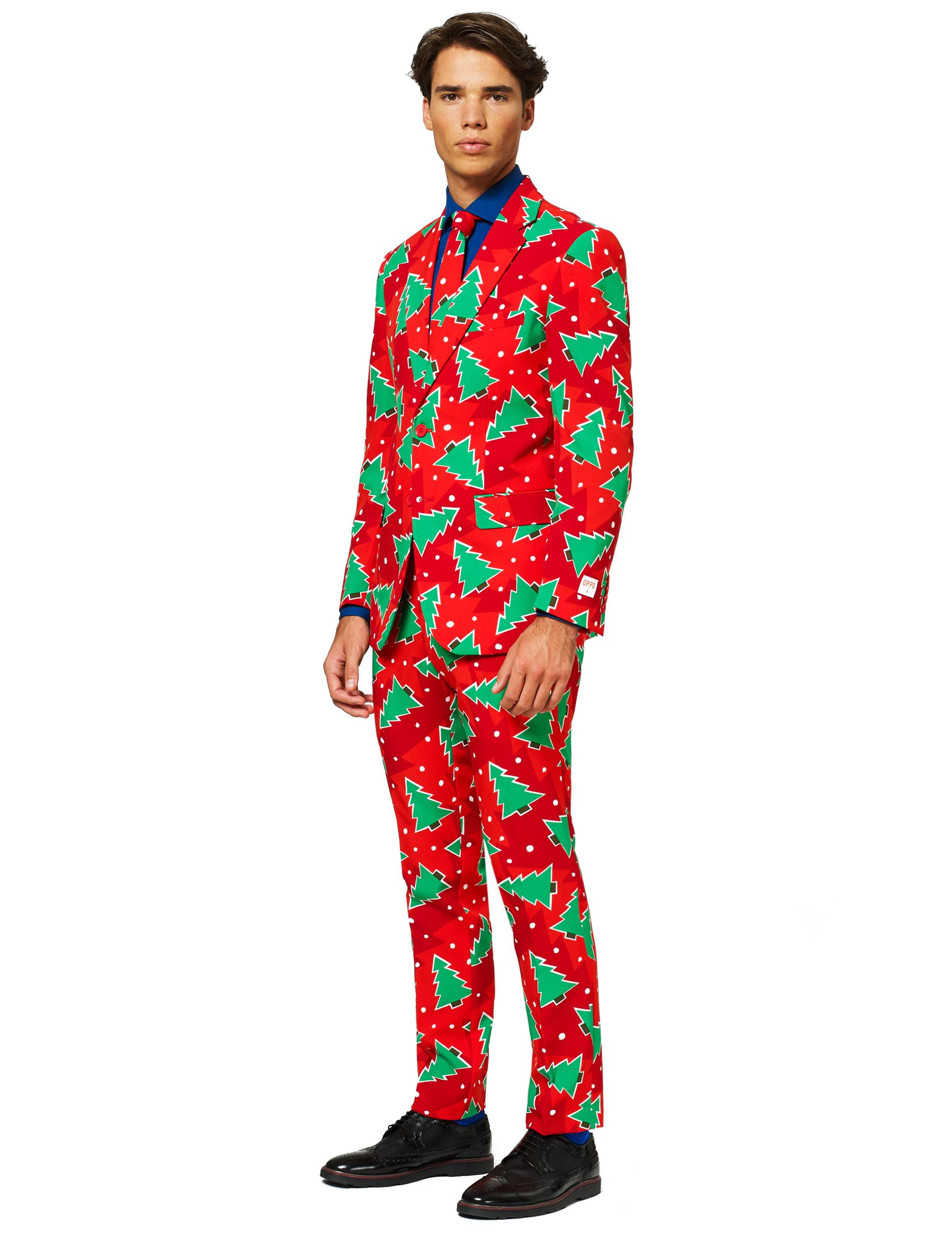 mr christbaum opposuits anzug f r herren weihnachten rot. Black Bedroom Furniture Sets. Home Design Ideas
