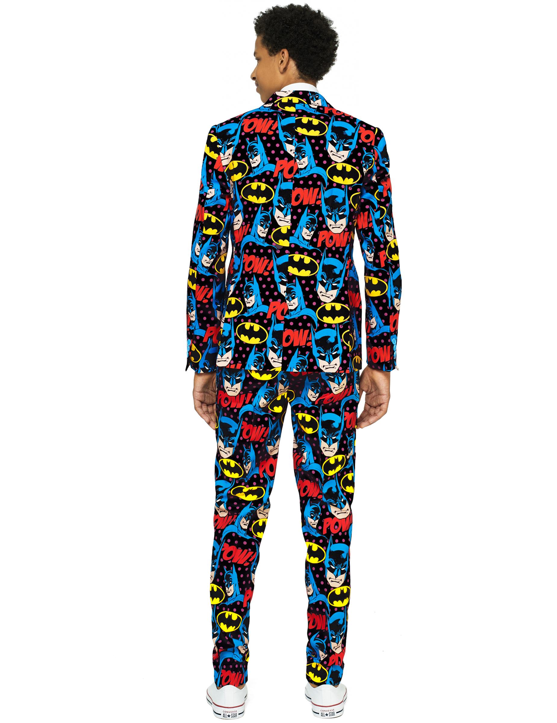 Straßenpreis große Auswahl beste Angebote für Mr. Batman™-Opposuits Anzug Teenager-Kostüm bunt