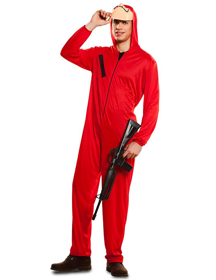 Haus Des Geldes Bankrauber Kostum La Casa De Papel Rot Kostume Fur